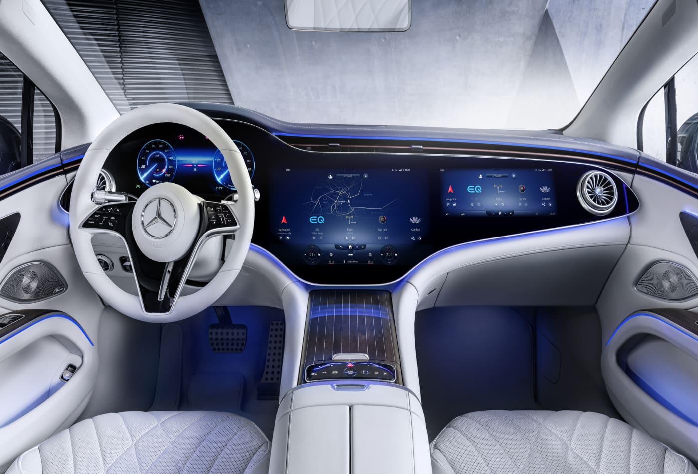 Mercedes-Benz unveils new flagship EQS electric sedan to take on Tesla