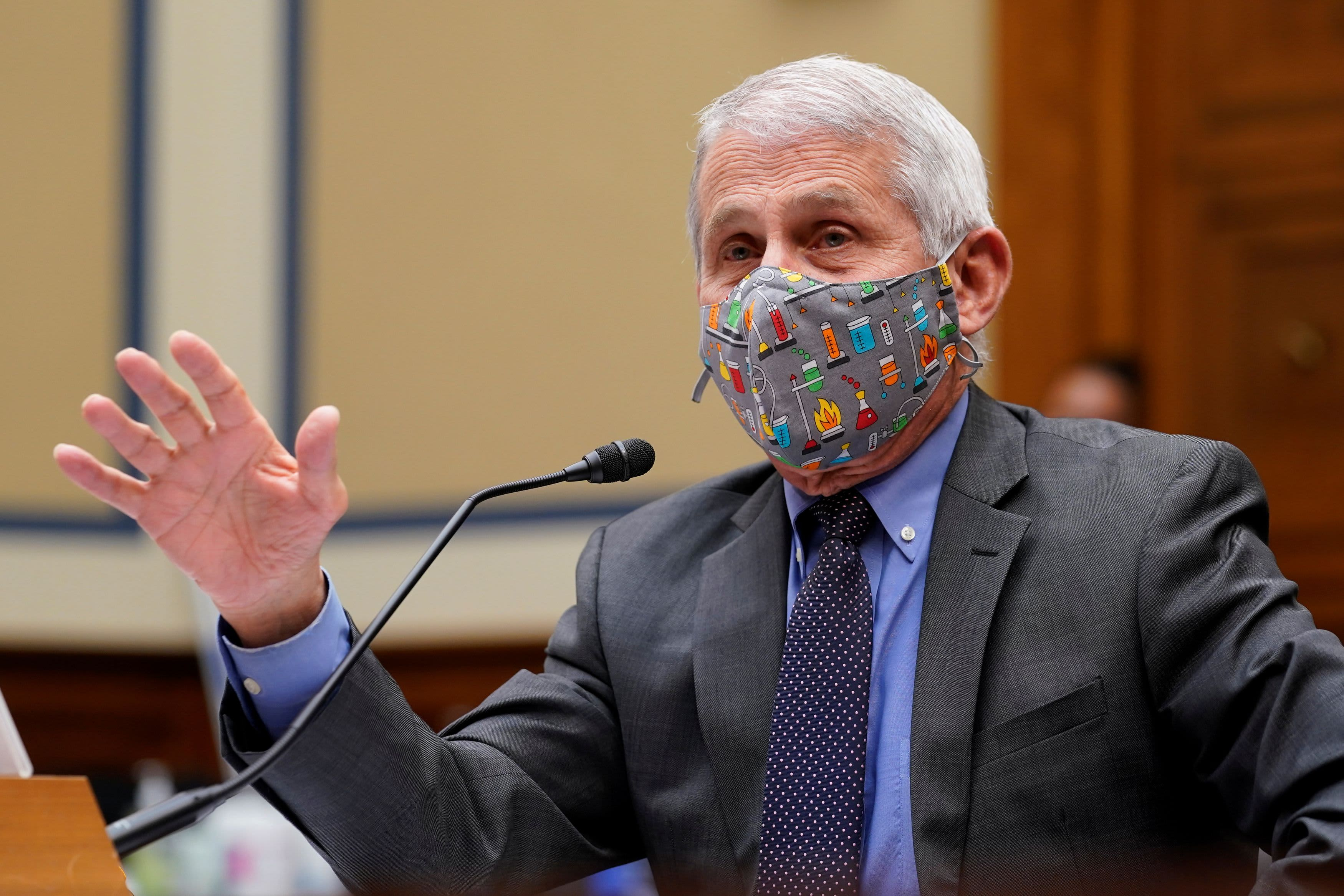 Fauci says face masks could become seasonal after Covid pandemic – CNBC