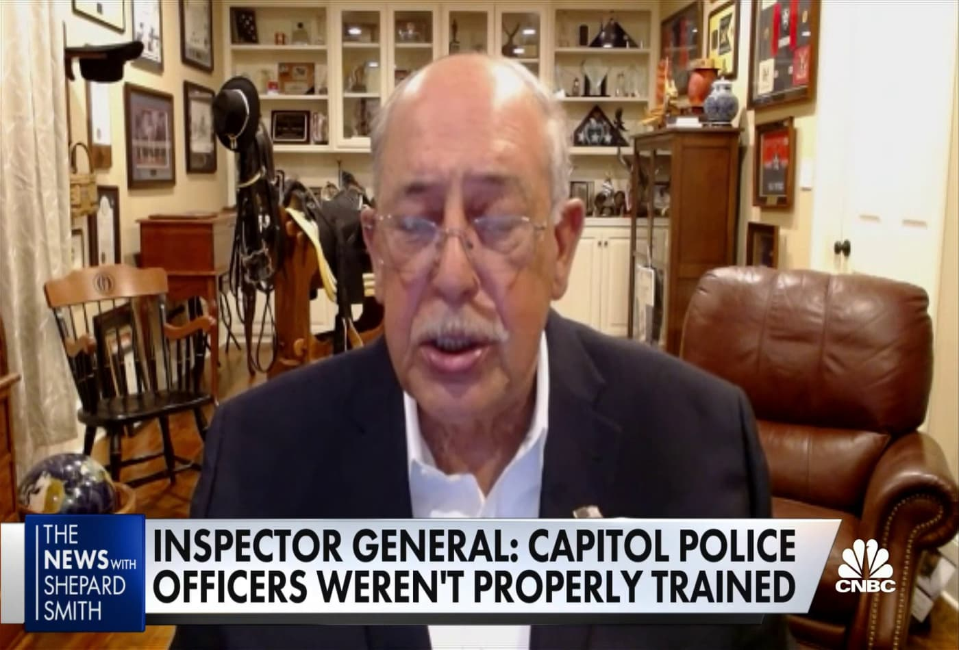 Retired Lt. General Honoré discusses why threats to the Capitol were ignored