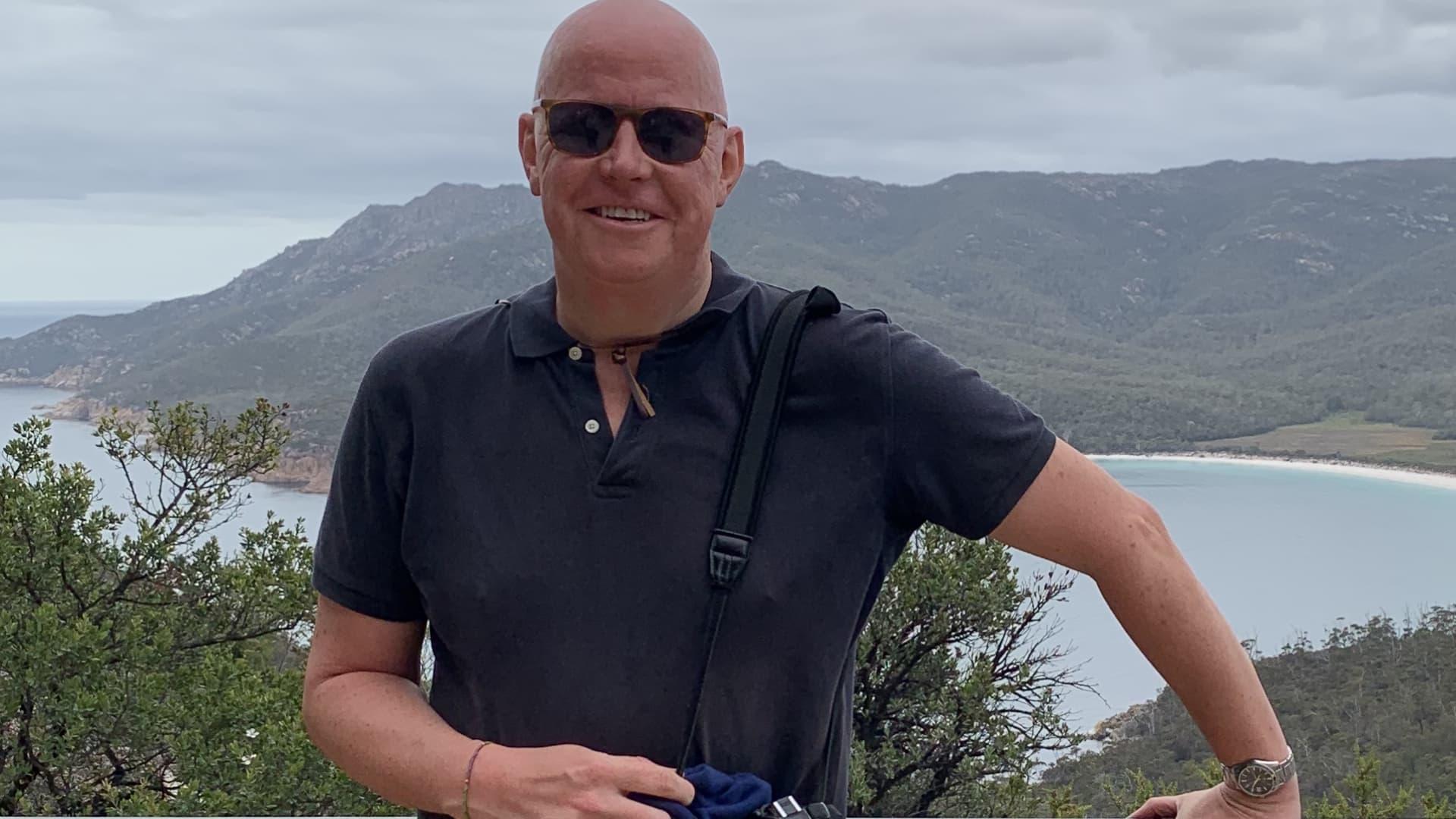 Travel writer Chris Dwyer.