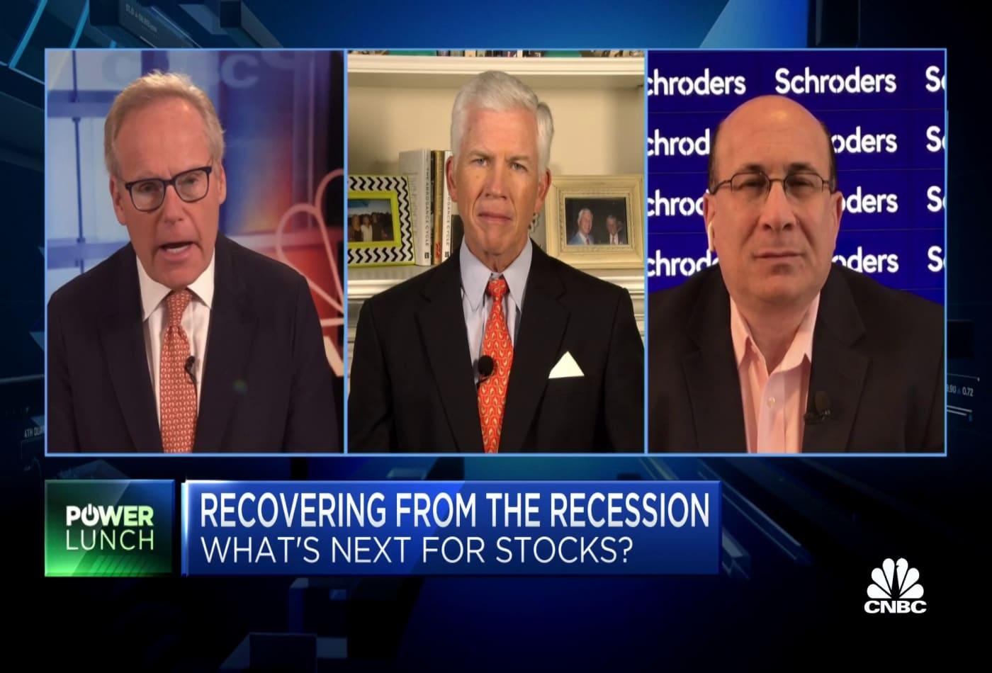 Recovery trade is still on, says Ron Insana