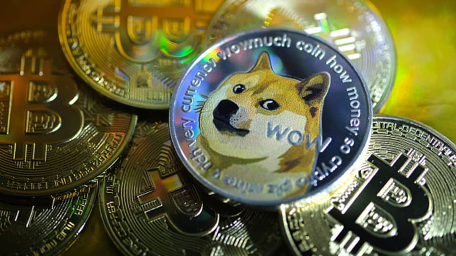 Dogecoin is blowing up. Invest with caution