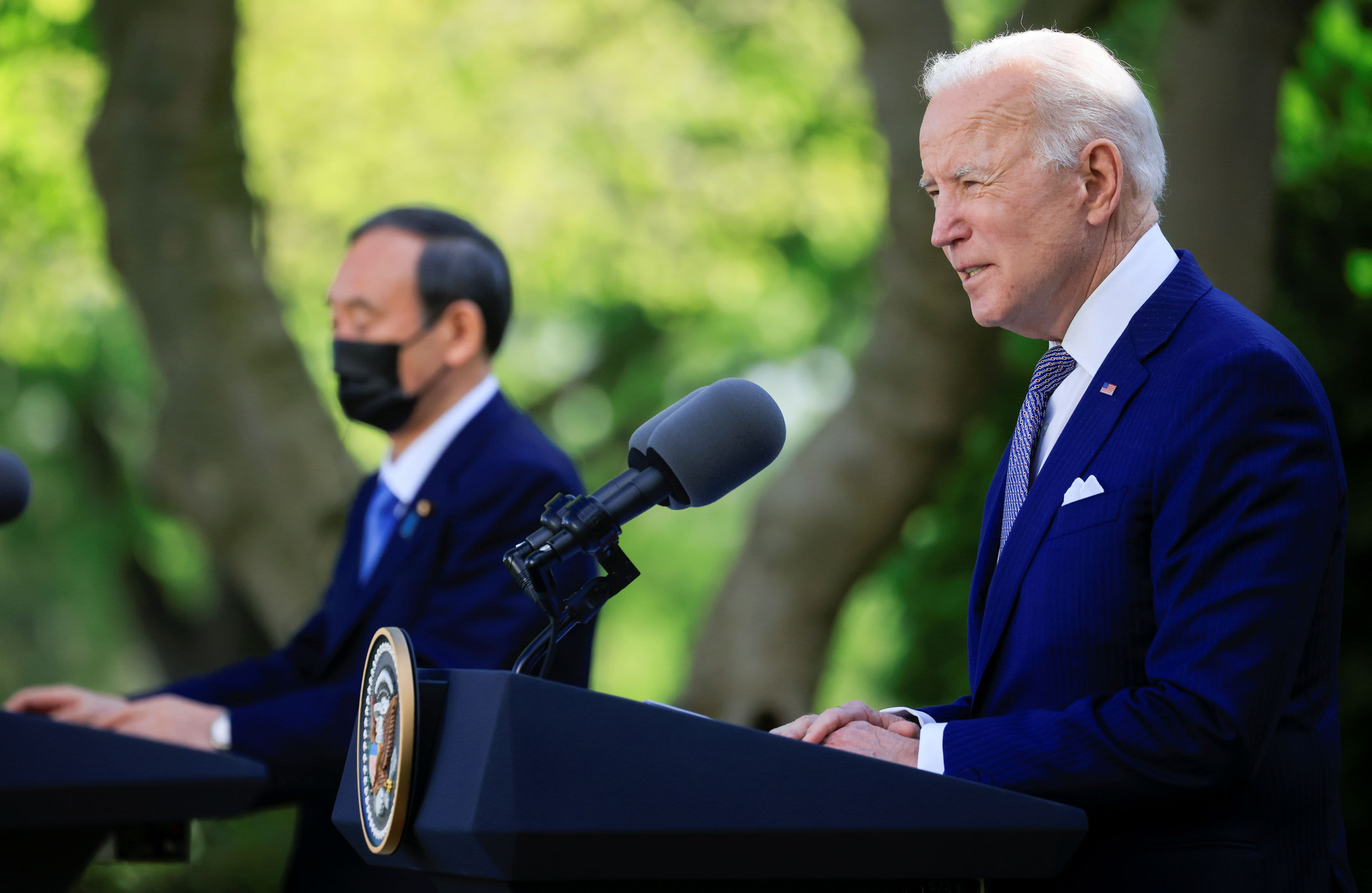 First 100 days: Biden keeps Trump-era sanctions in tech battle with China, looks to friends for help