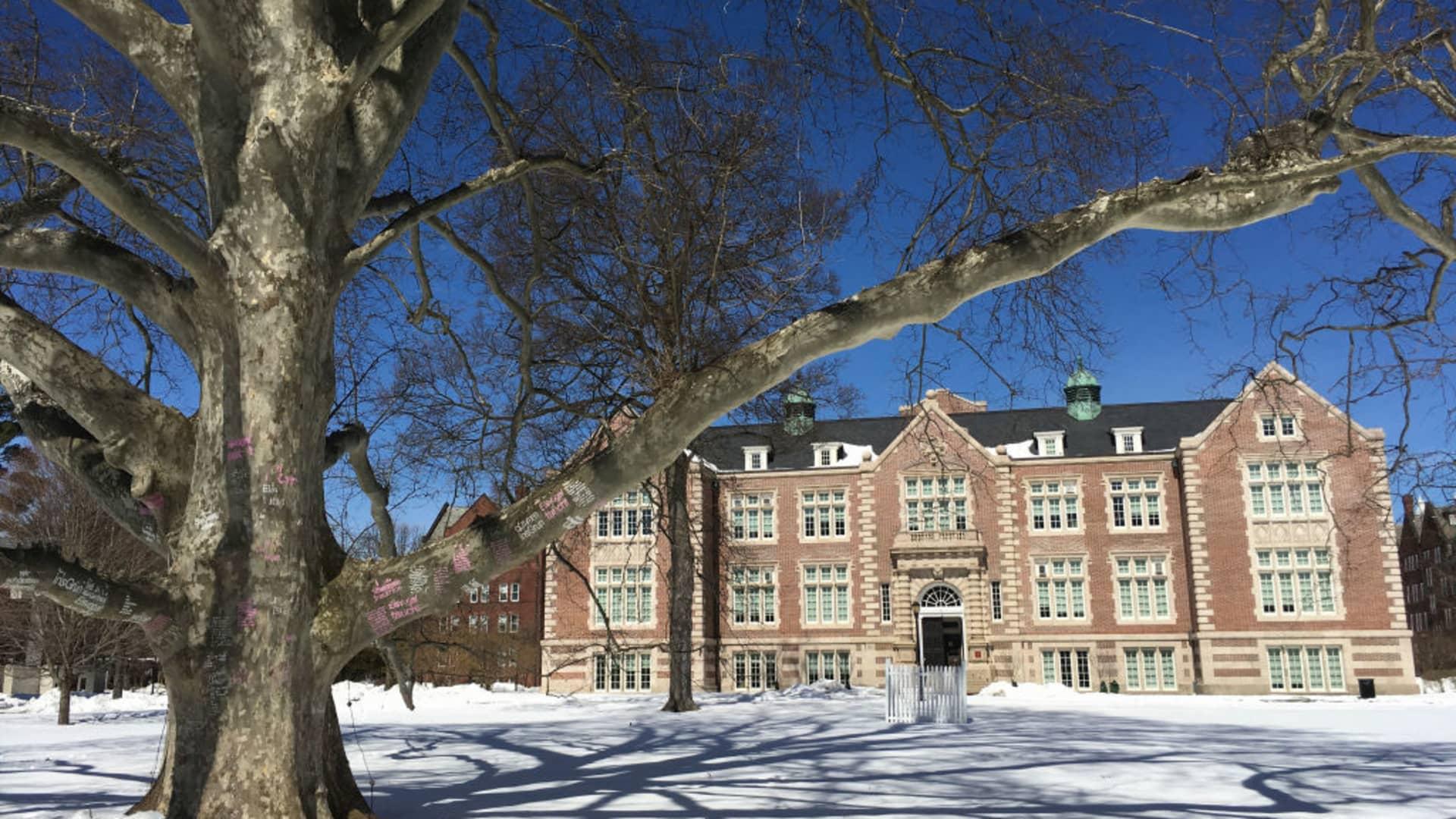 Rockefeller Hall at Vassar College in Poughkeepsie, New York