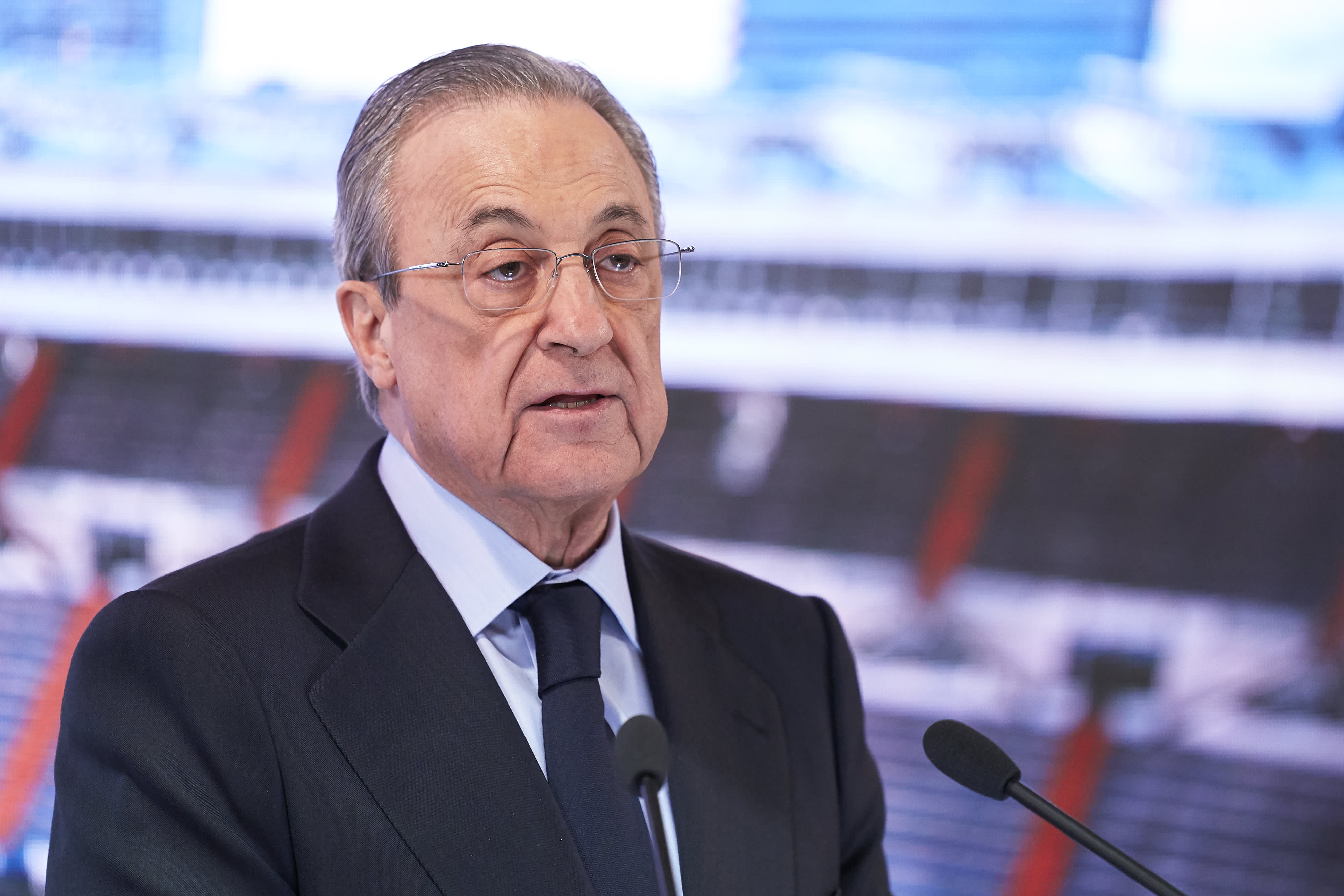 Real Madrid chief Perez says Super League is not 'dead'