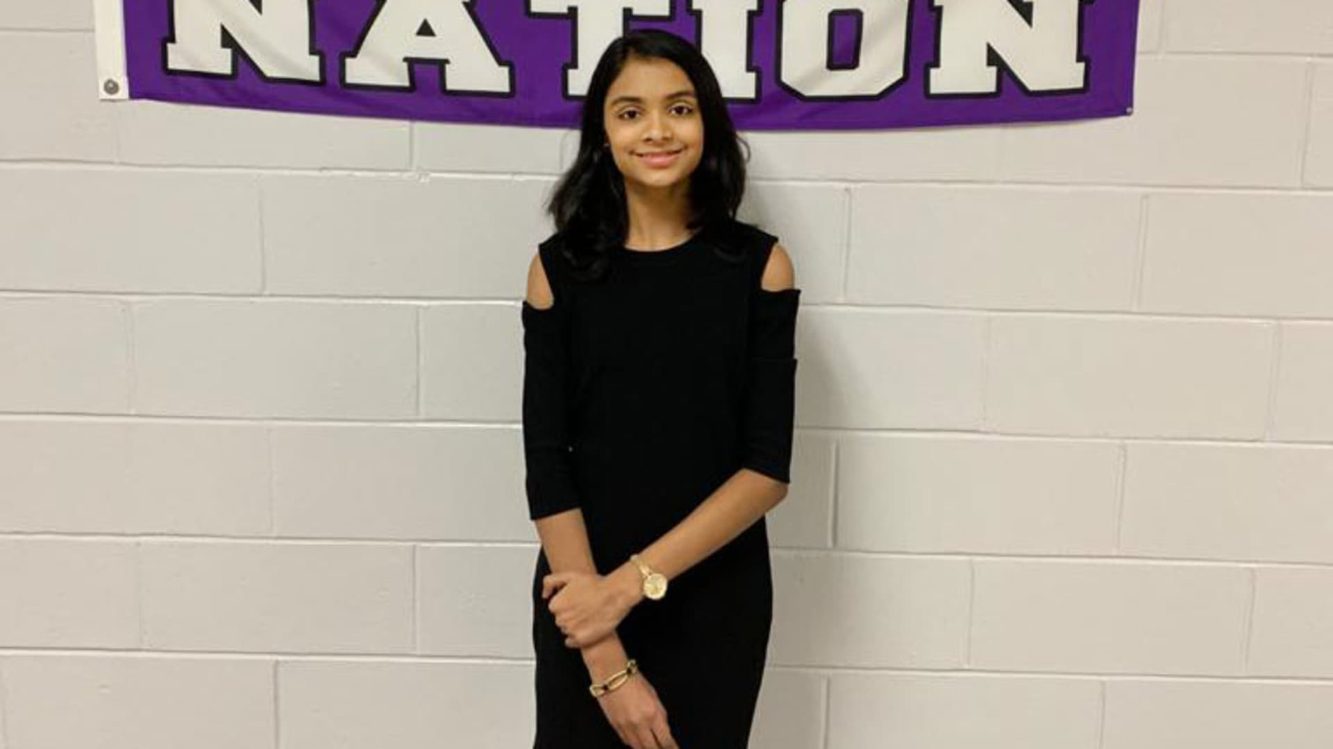Kavya Venkatesan, 14 years old, has already taken an online personal finance course and is learning about investing.