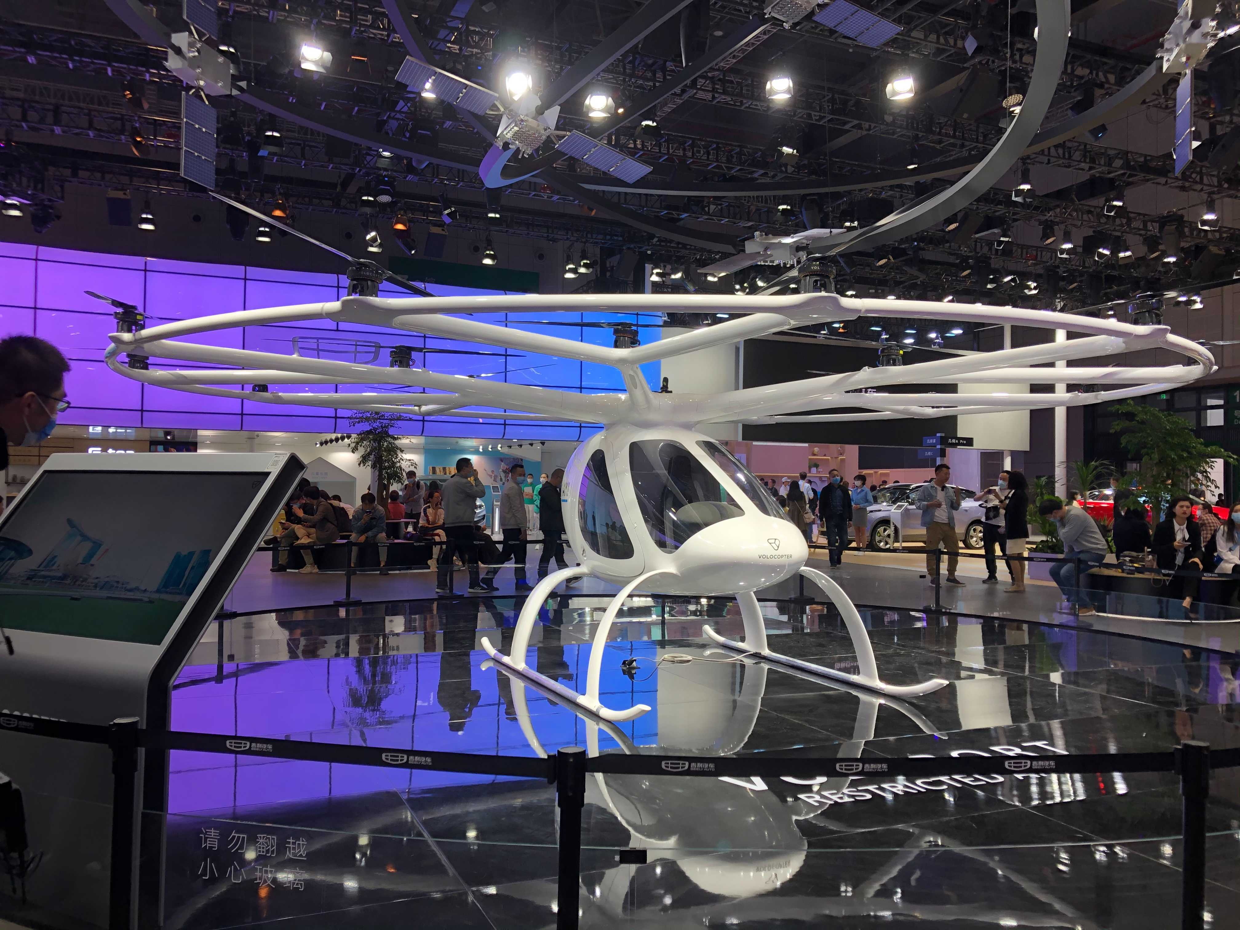 Automakers show off flying cars in Shanghai — but Warren Buffett-backed BYD stays clear