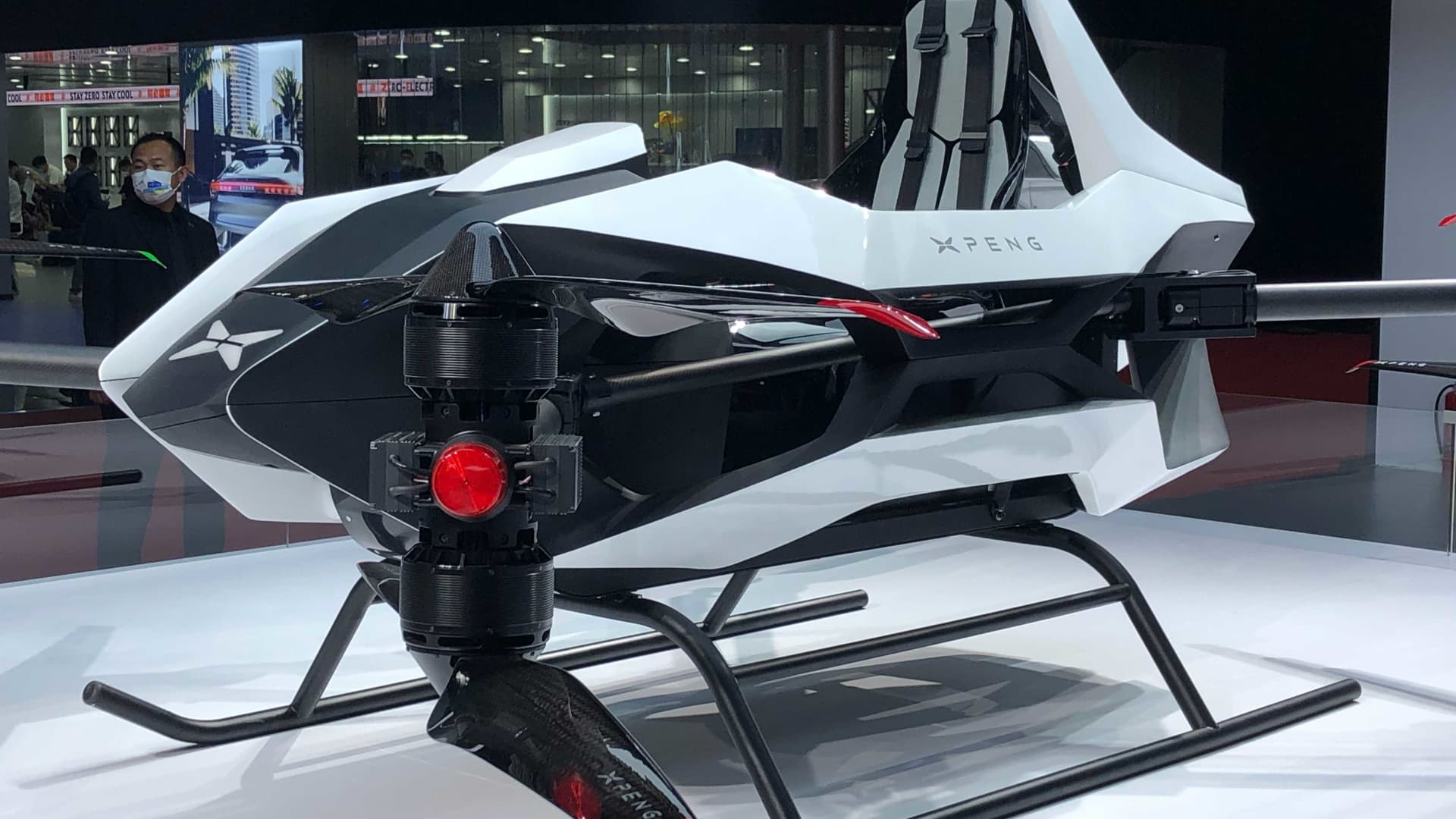 Less than half a year since revealing a flying vehicle prototype, Chinese electric car start-up Xpeng unveiled a second model at the Shanghai auto show in April 2021.