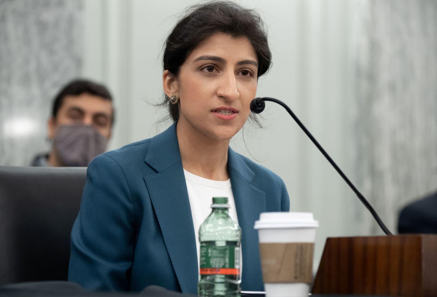 Senate confirms progressive tech critic Lina Khan to become an FTC commissioner