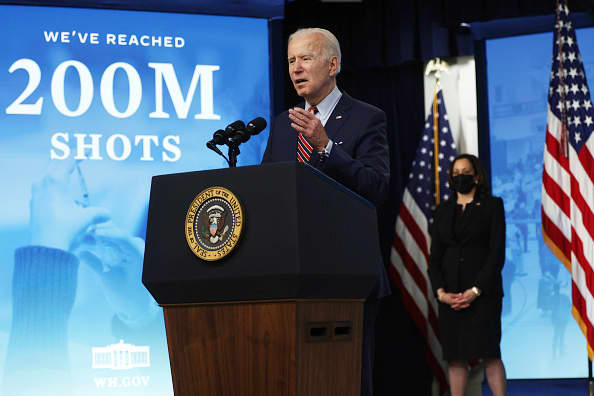 Biden hits 100-day vaccine goal as case counts in Michigan, U.S. show signs of slowing