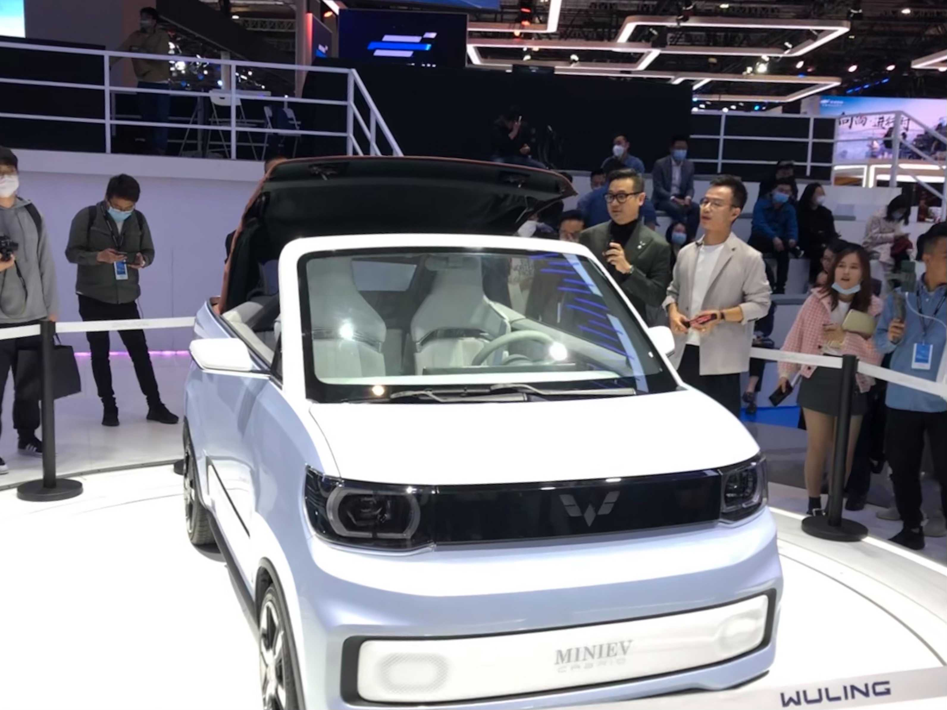 China's best-selling, GM-backed electric car brand launches a mini convertible