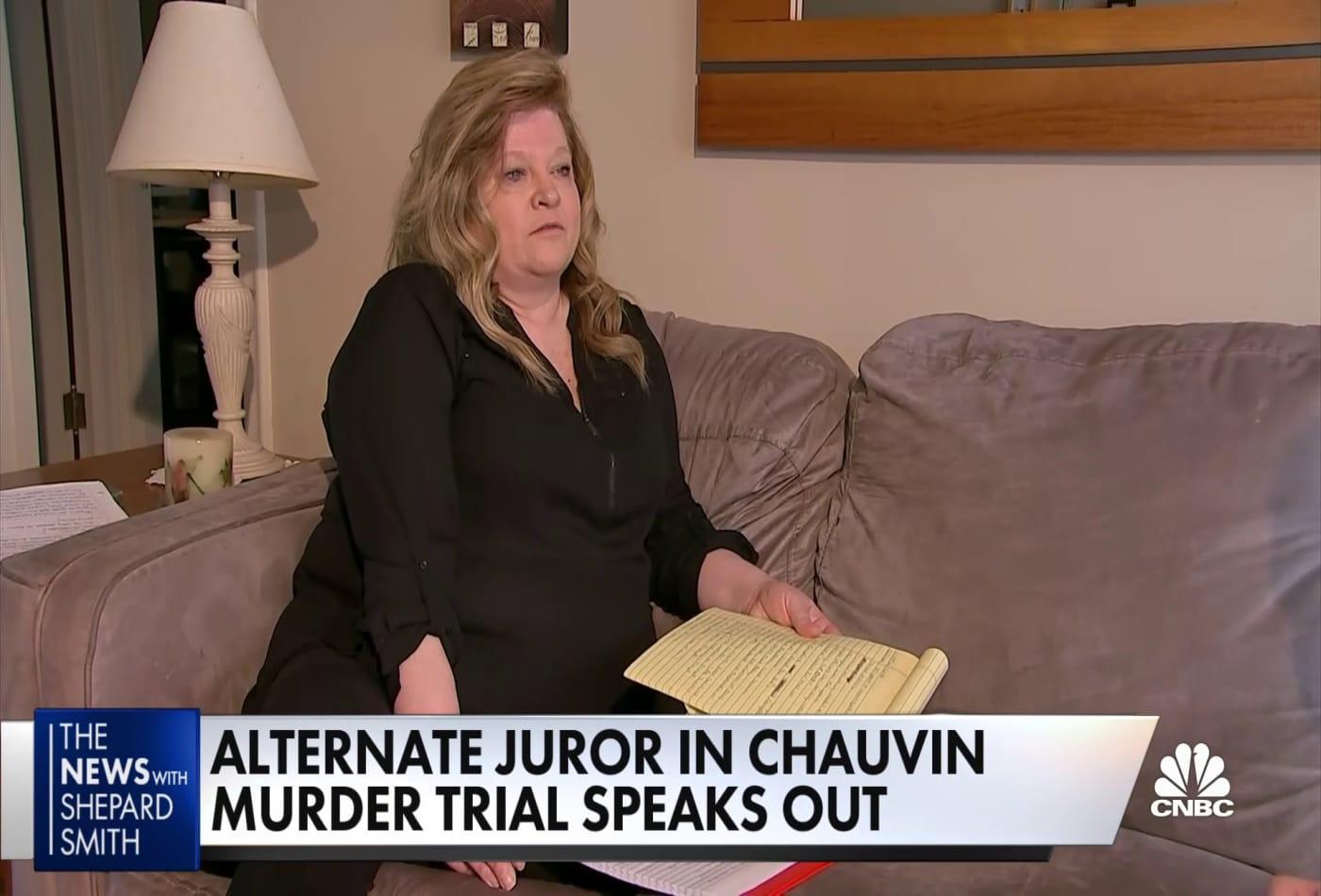 Alternate juror in Chauvin murder trial speaks out