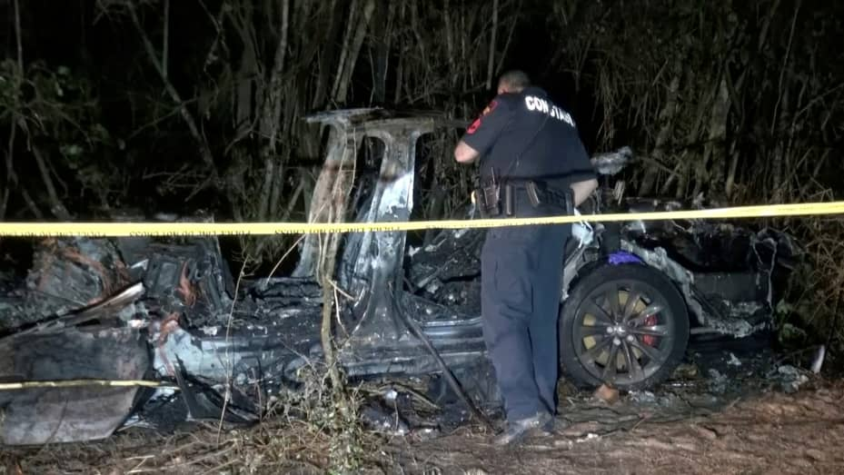 Victim of Tesla crash in Texas had an alcohol level exceeding the legal limit