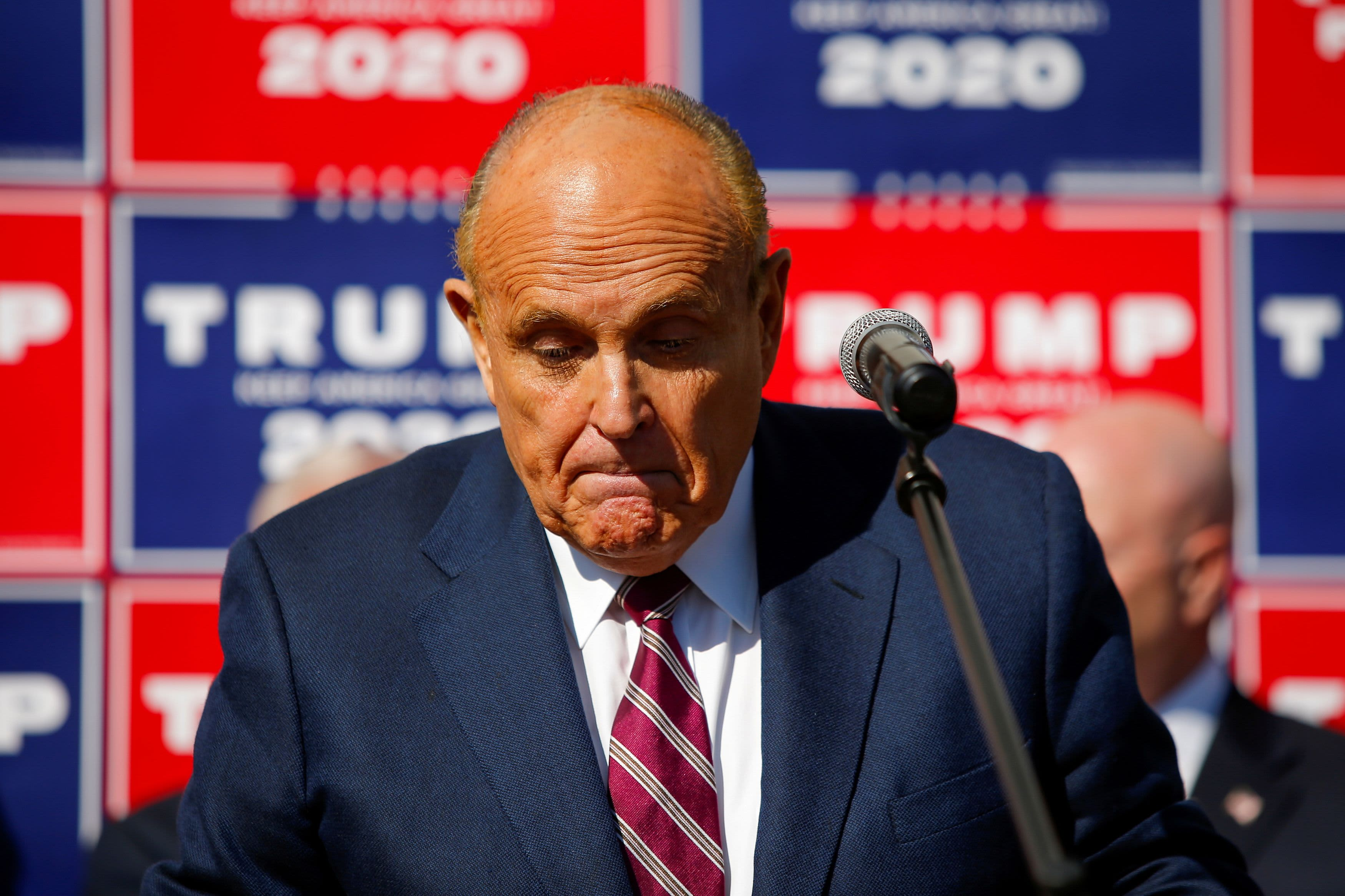 Federal search warrant executed at Rudy Giuliani's NYC apartment