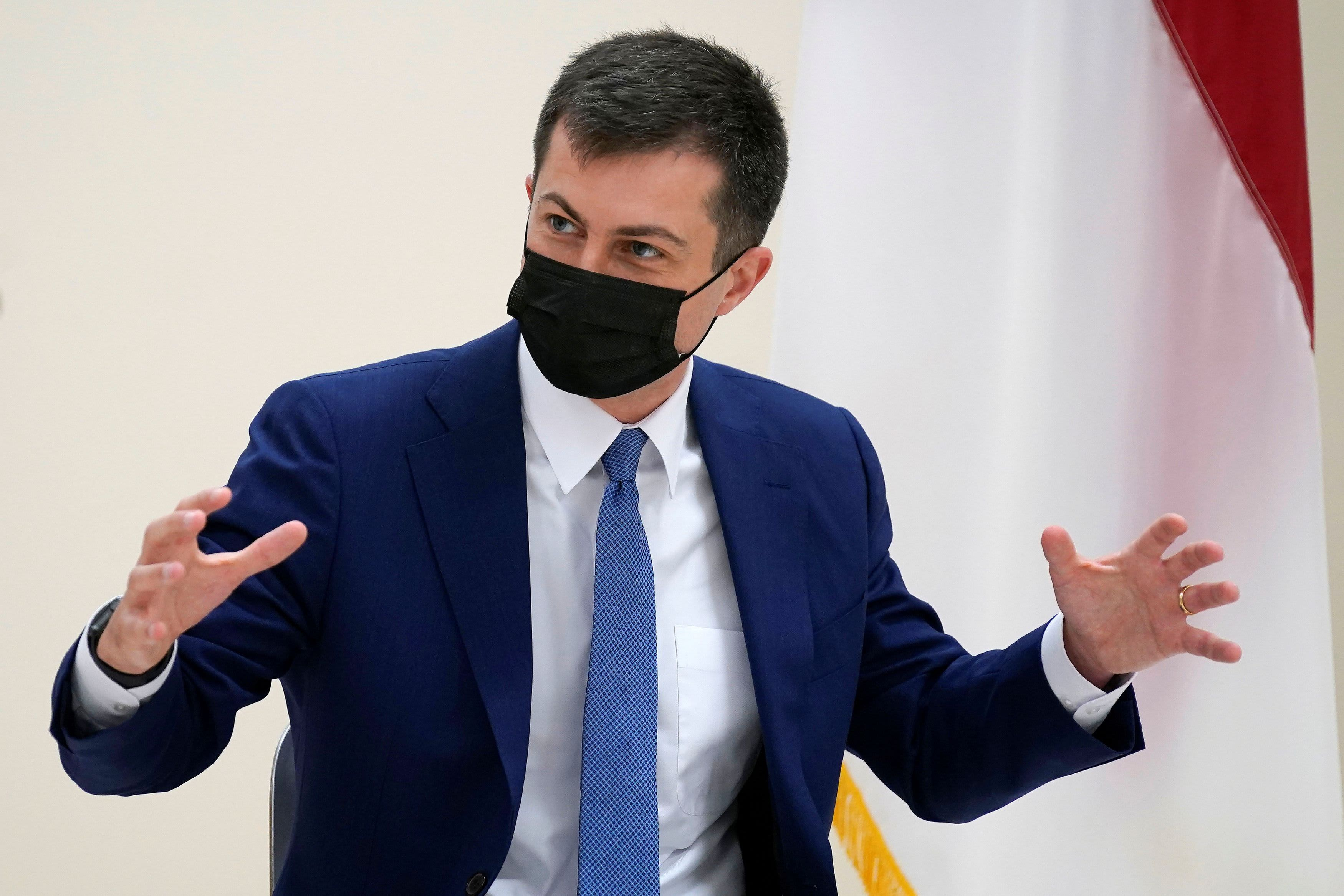 Colonial Pipeline hack was 'wakeup call' on U.S. cyber vulnerability, Buttigieg says