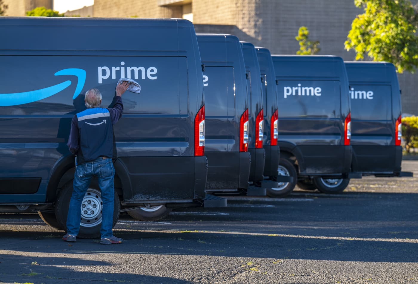 JPMorgan says buy Amazon as it's set to pass Walmart as the largest U.S. retailer next year