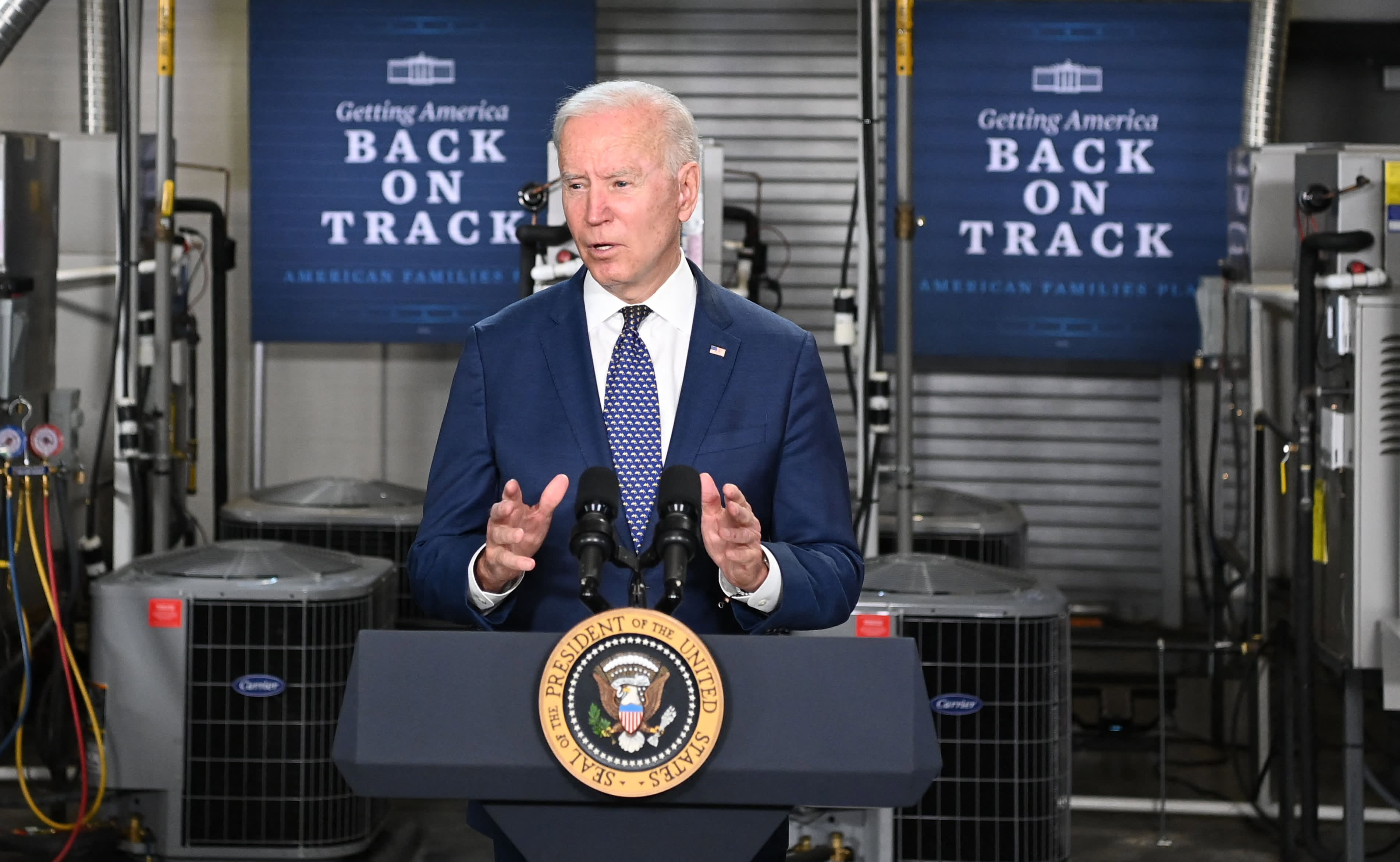 Biden and McConnell harden their positions on tax hikes