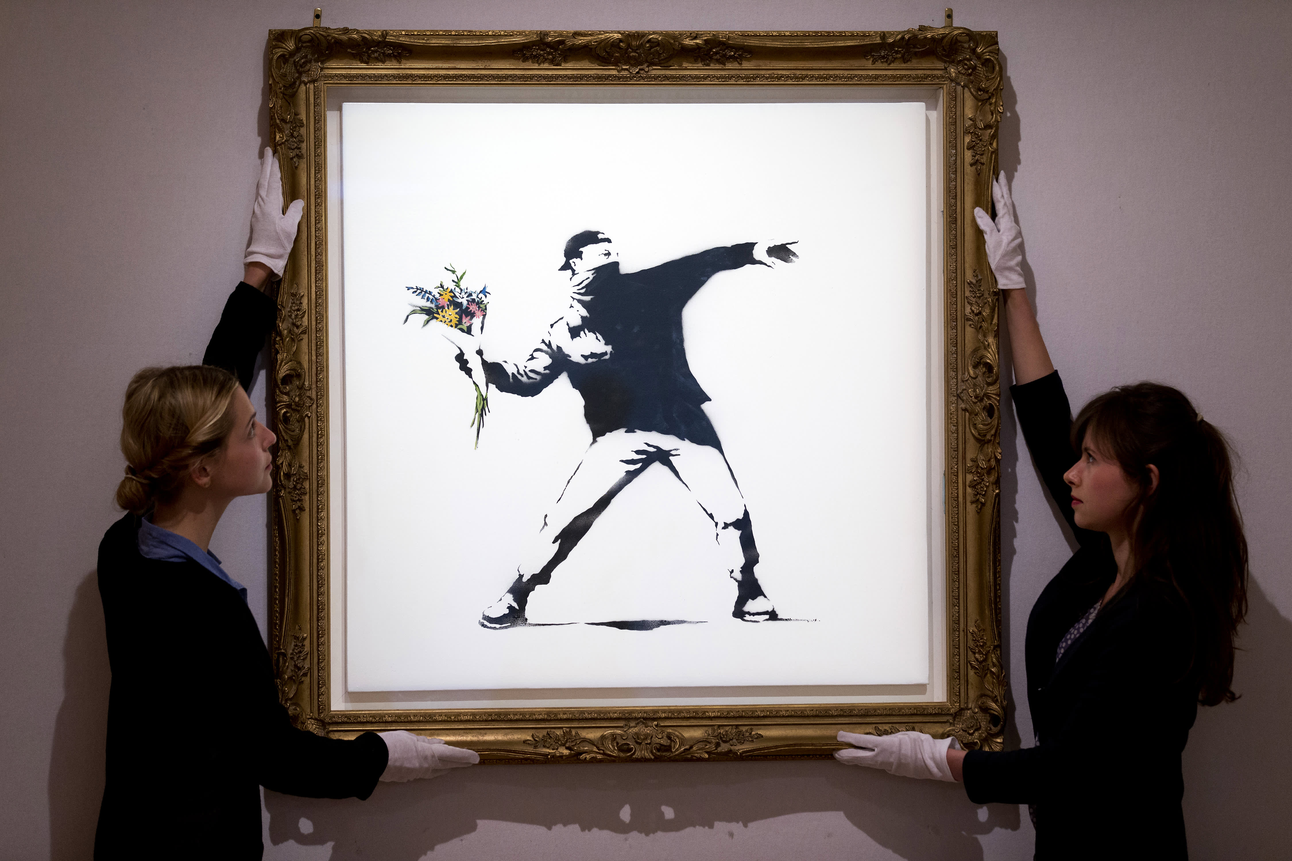 Sotheby's to accept bitcoin and ether for an upcoming auction of a Banksy painting
