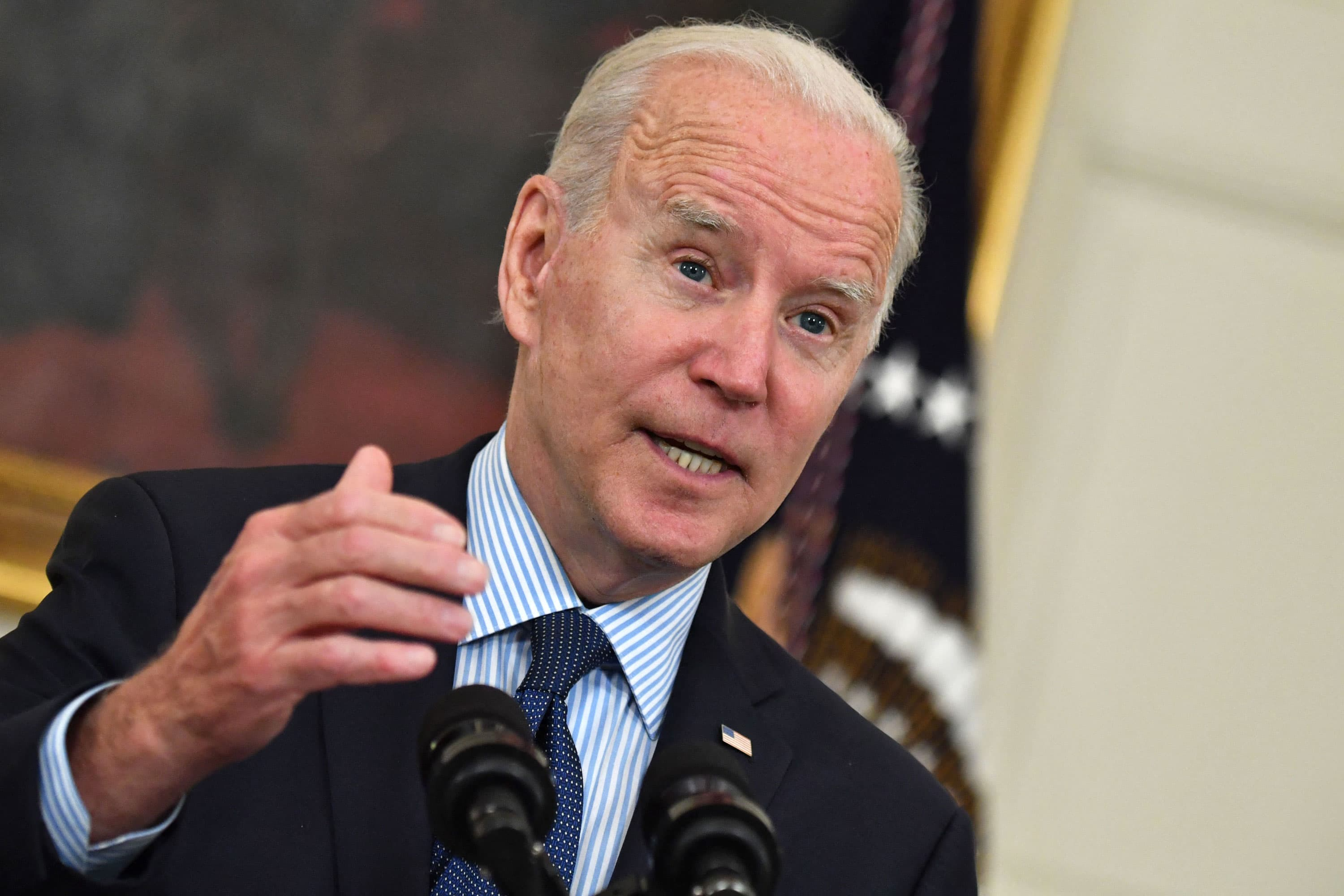 Biden urges employers to boost wages, but warns workers they'll lose unemployment pay if they reject jobs