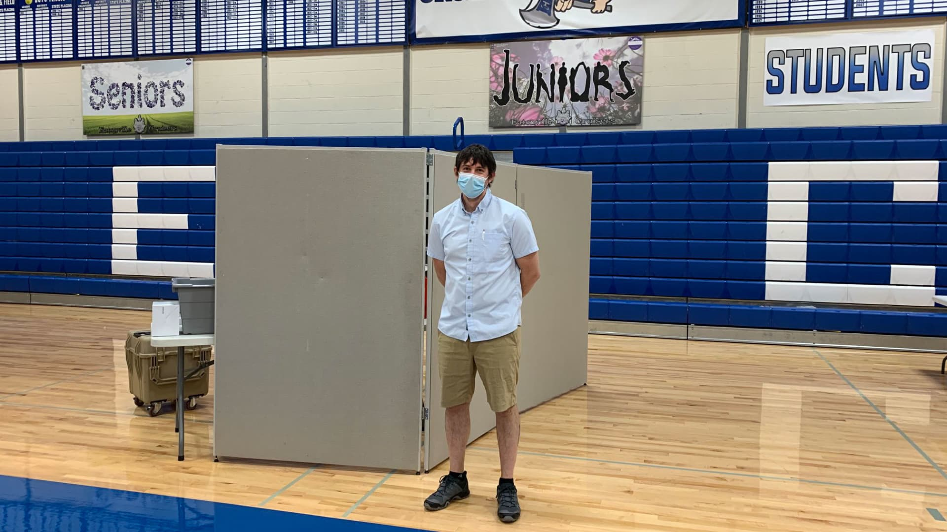 The Eatonville School District in Washington state hosted a vaccination clinic for students soon after eligibility expanded to include everyone over the age of 16.