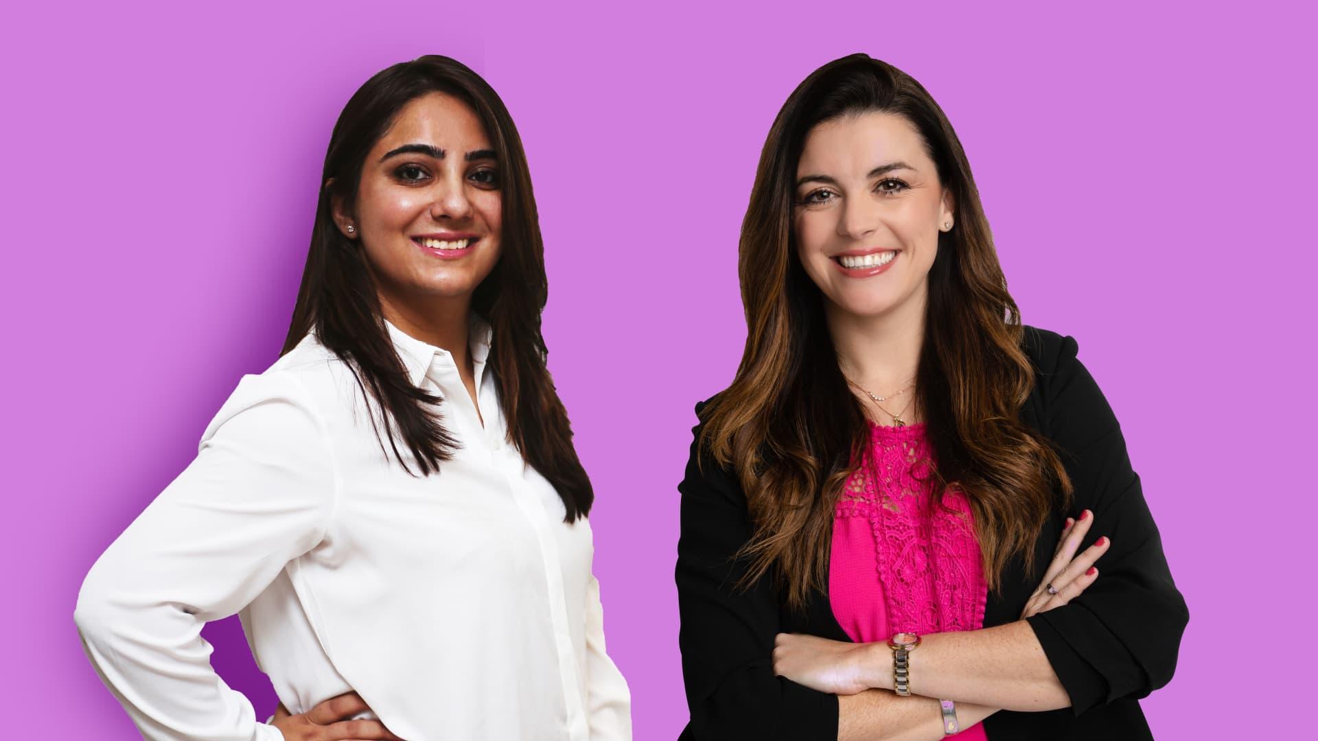 Spekit co-founders Zari Zahra and Melanie Fellay