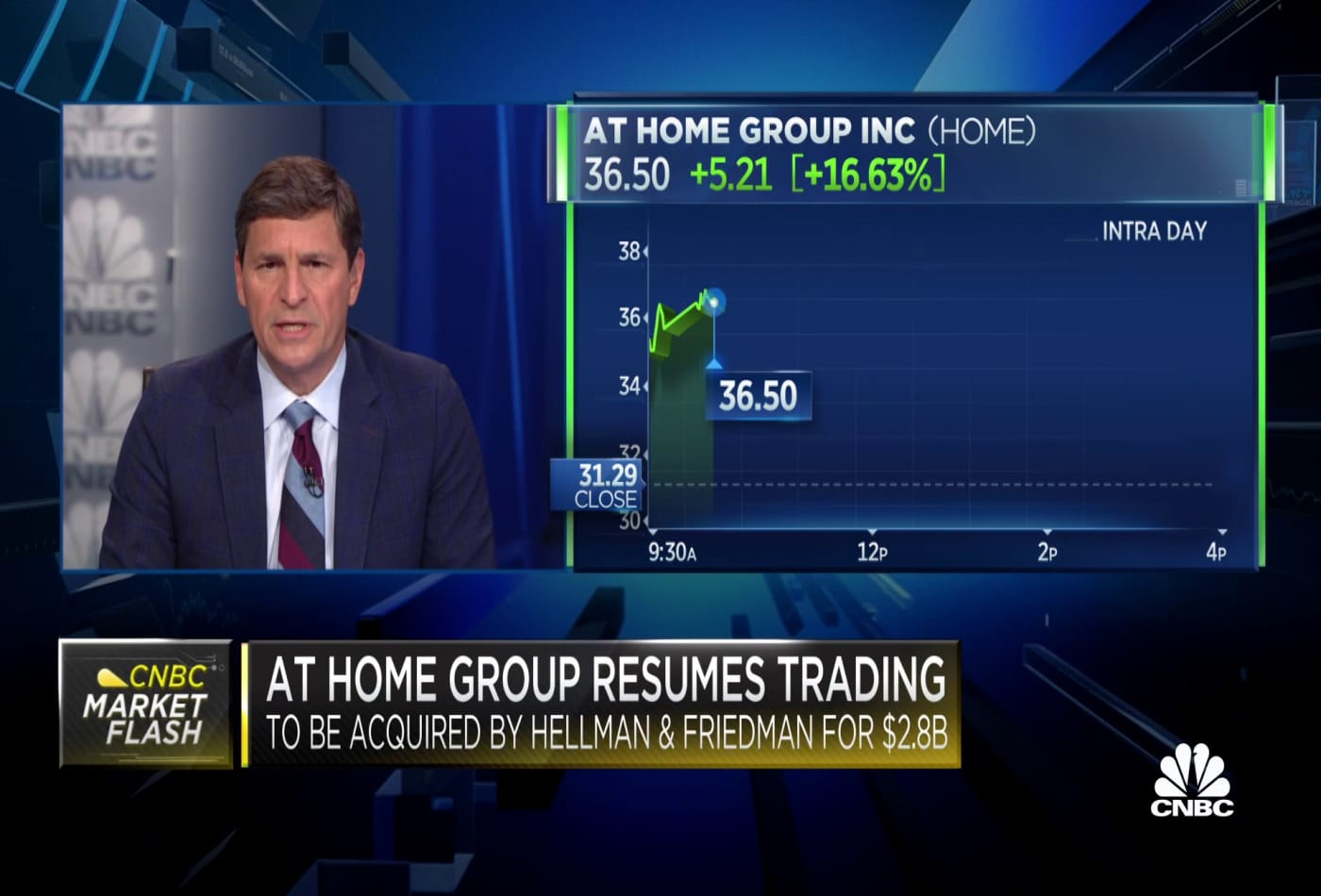 At Home Group to be acquired by Hellman & Friedman for $2.8 billion