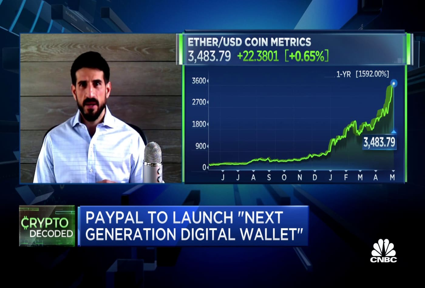 Paxos CEO on powering PayPal's crypto 'next generation digital wallet'