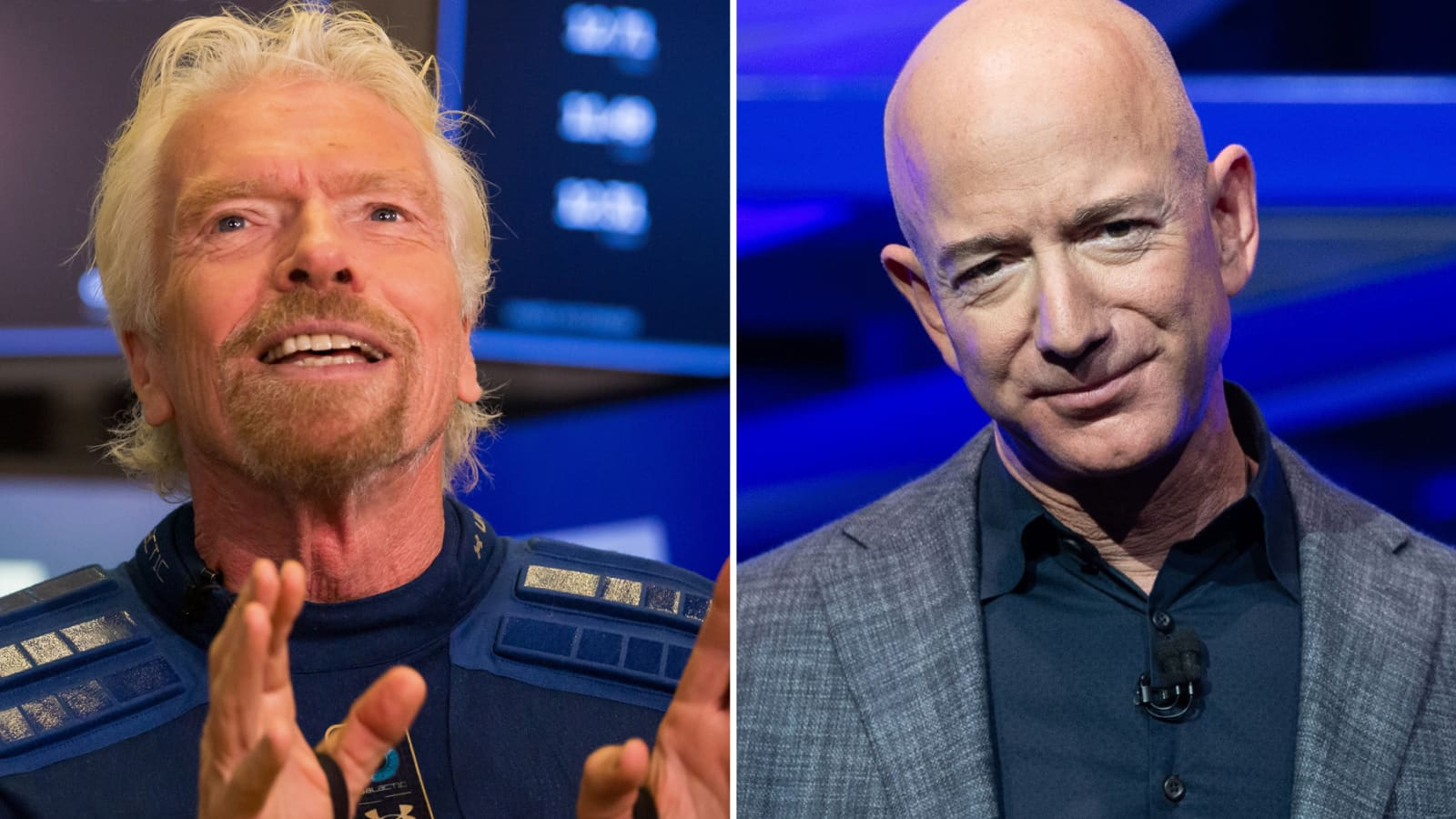 Where space begins: Bezos' Blue Origin vs. Branson's Virgin Galactic
