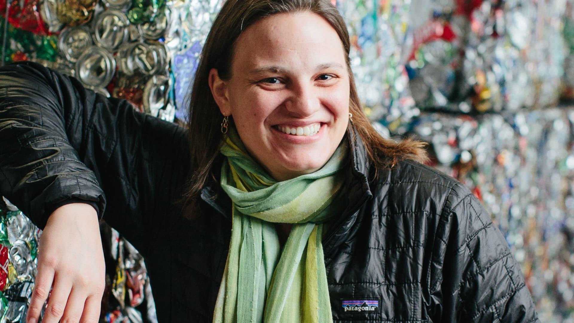 Kate Davenport, co-president of Eureka Recycling.