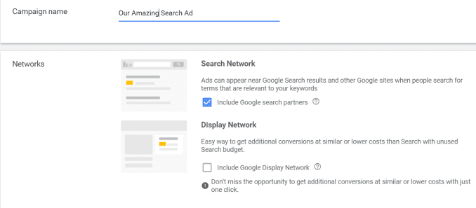 Google Ads에서 검색 광고 구매