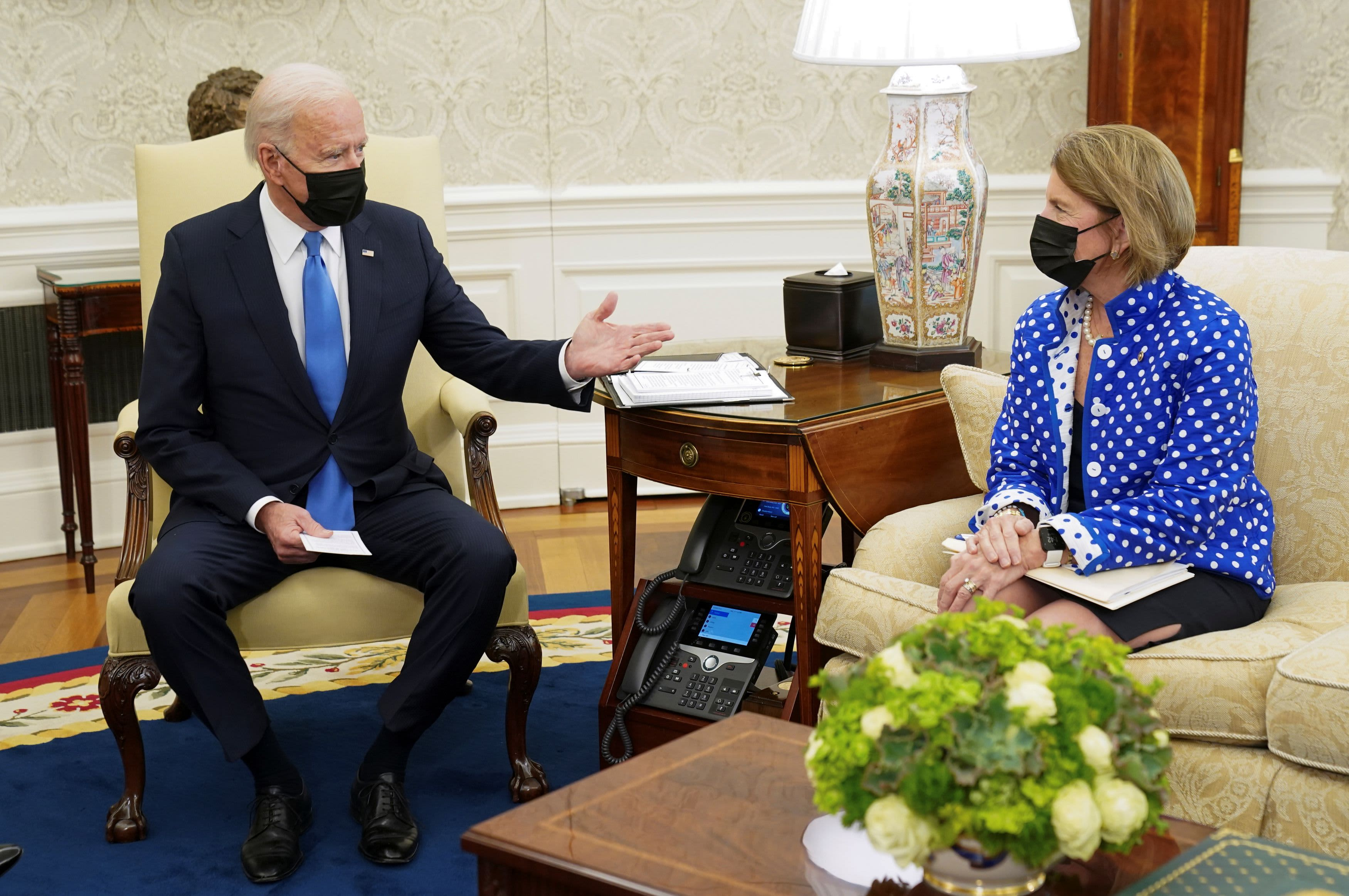 Biden rejects new GOP infrastructure offer but will meet with Sen. Capito again Monday – CNBC