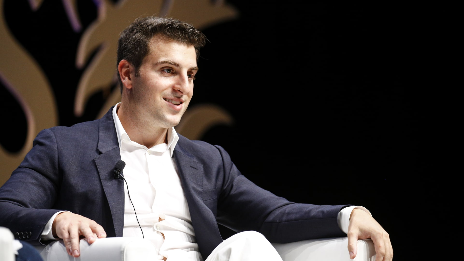 Airbnb CEO Brian Chesky attends the Cannes Lions on June 20, 2016, in Cannes, France.