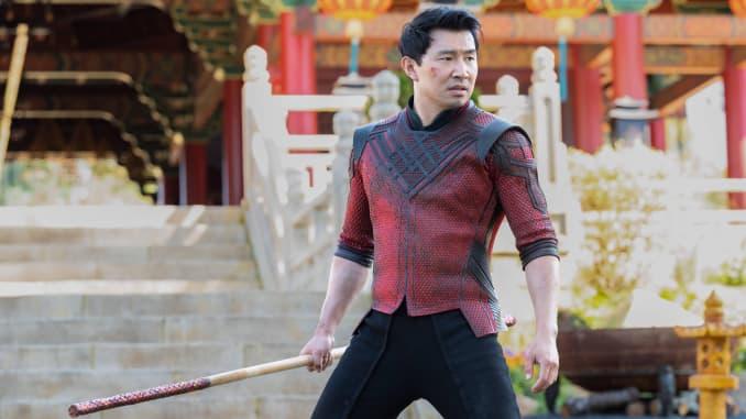 """Simu Liu berperan sebagai ShangChi dalam film Marvel """"ShangChi and the Legend of the Ten Rings"""""""