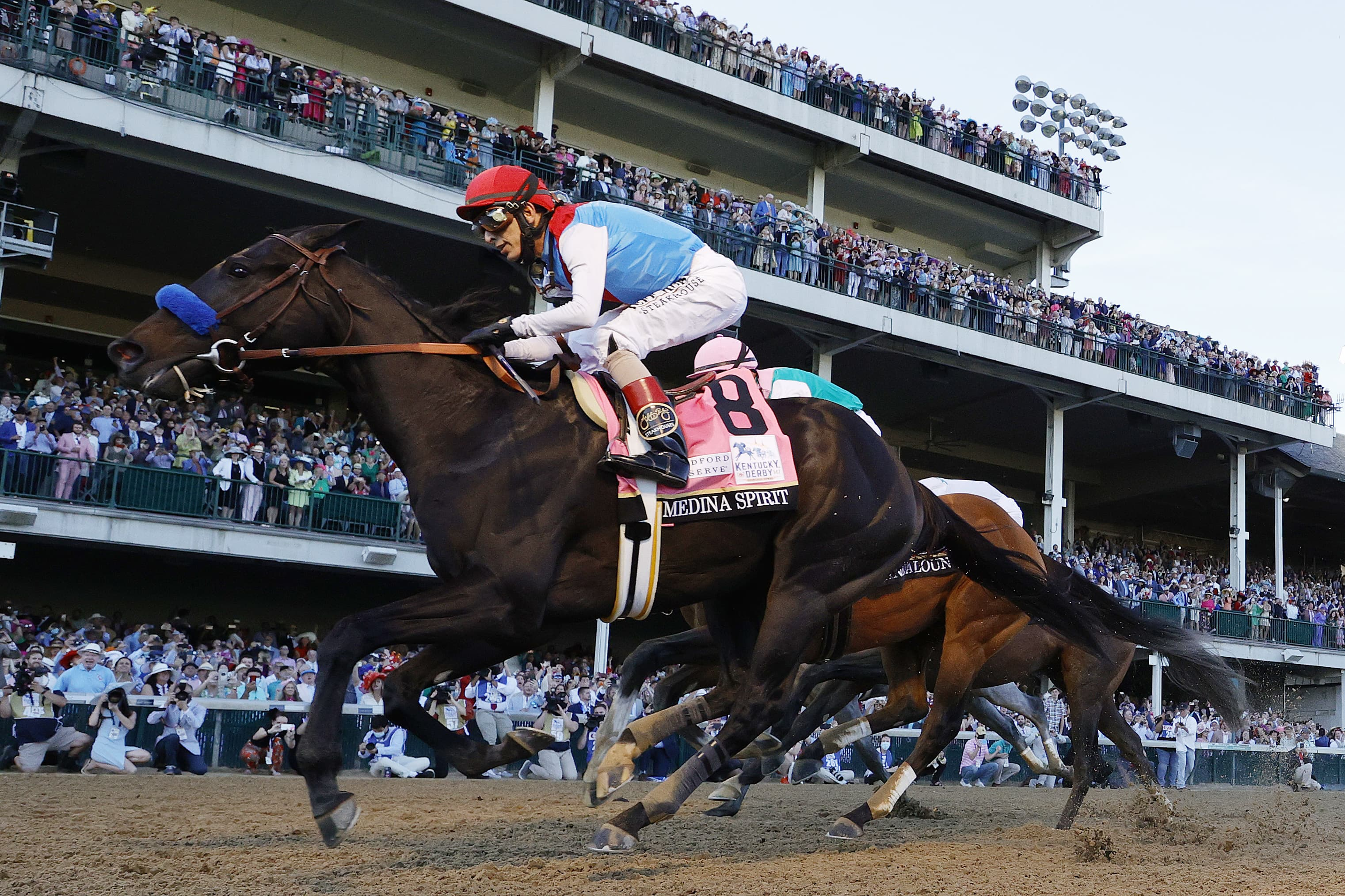 Medina Spirit passes drug tests and is licensed to operate in Preakness