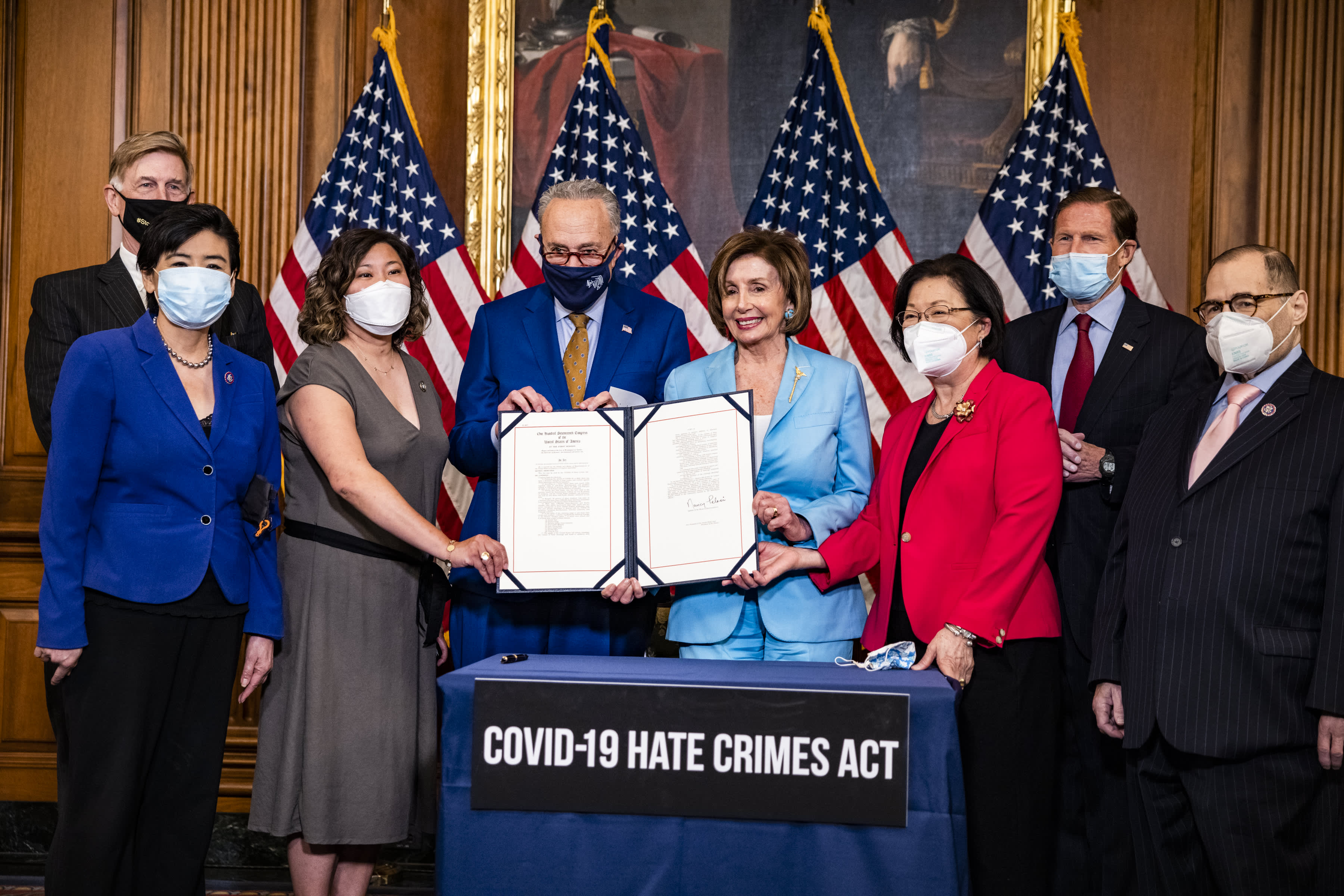 www.cnbc.com: House passes bill to curb hate crimes against Asian Americans, sends it to Biden