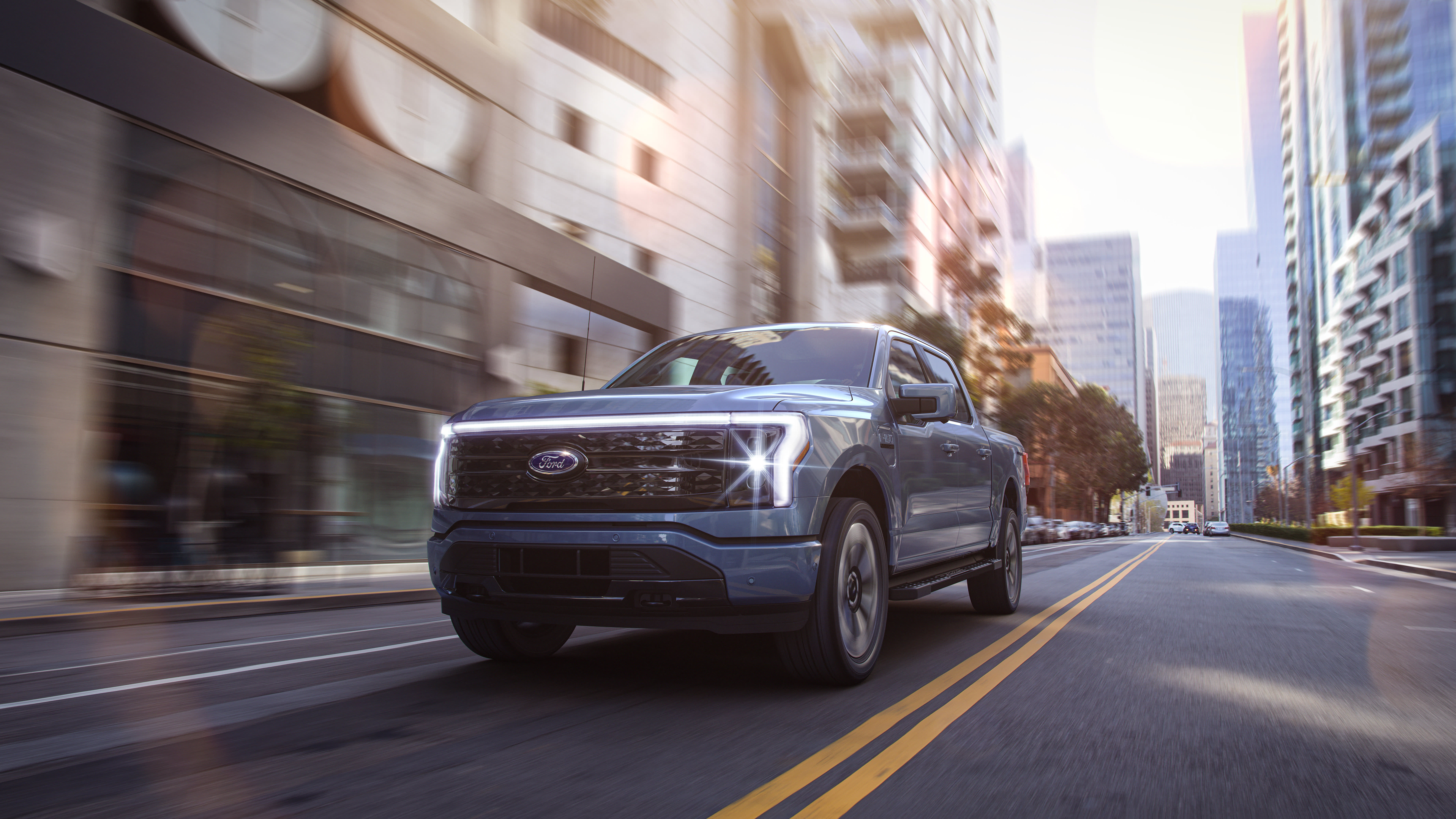 It's powered by two electric motors and a battery. Ford Prices Electric F 150 Lightning Pickup From 40 000 To 90 000