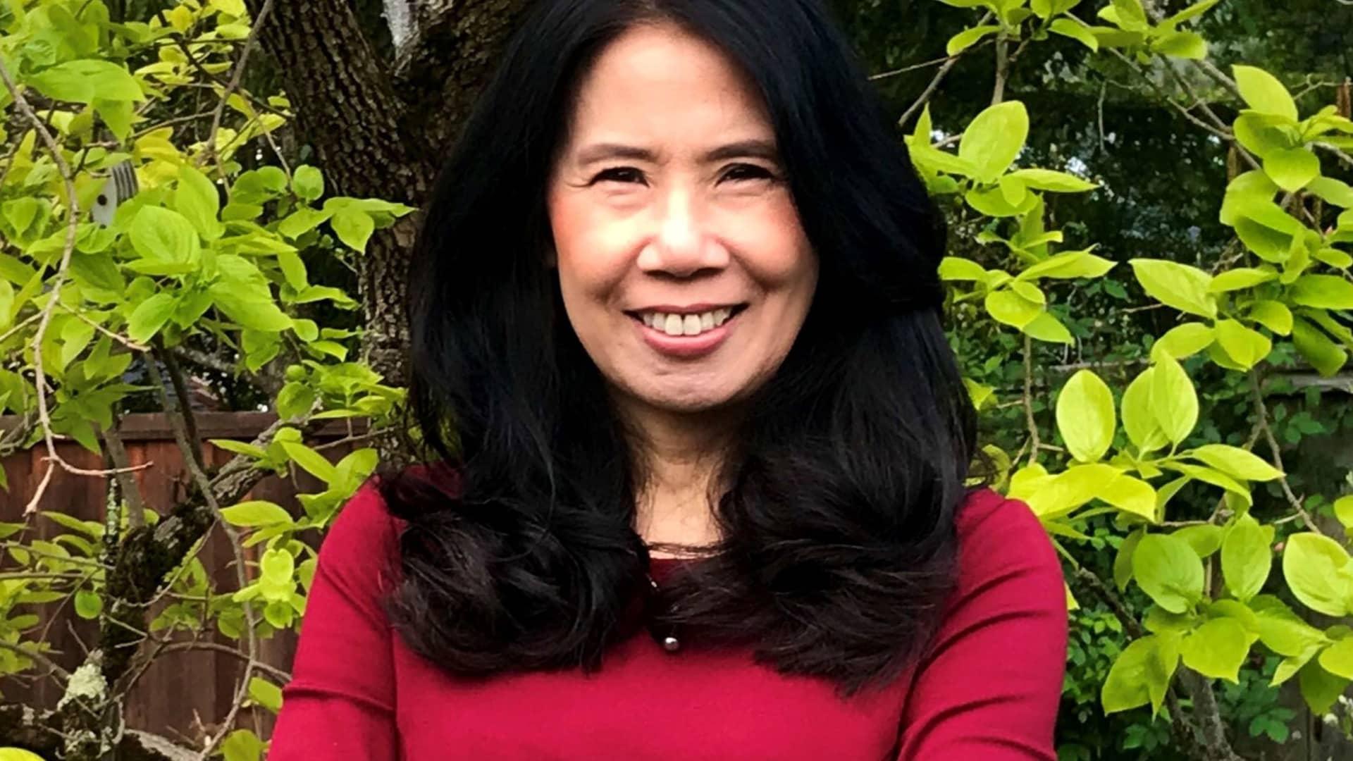 Cynthia Sugiyama, head of HR communications for Wells Fargo.