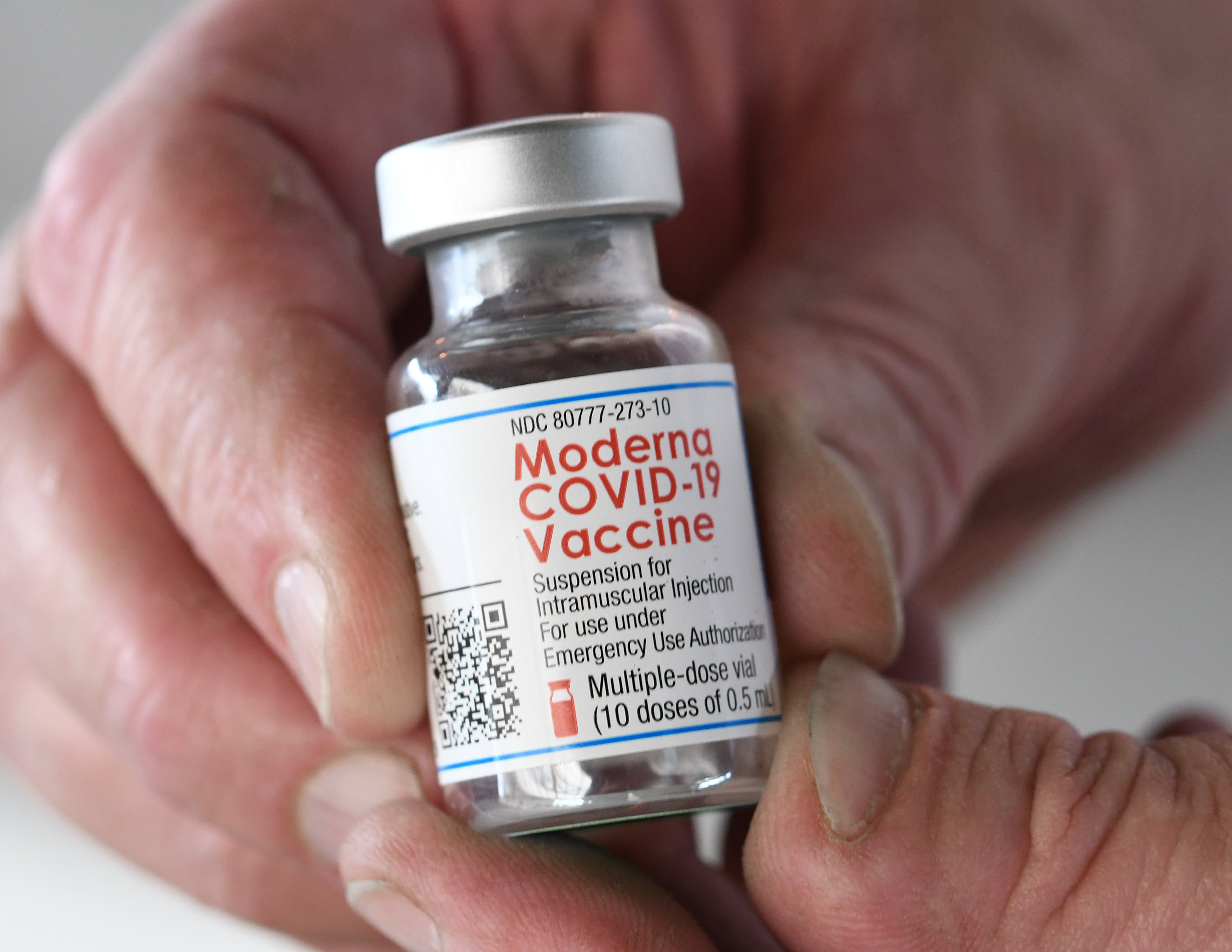 U.S. is in discussions with Moderna on buying Covid vaccine doses for other nations