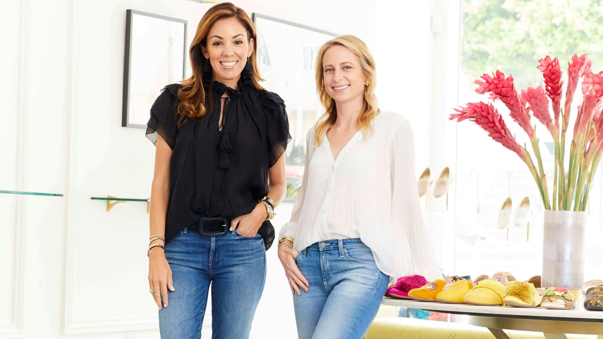Birdies founders Bianca Gates and Marisa Sharkey.