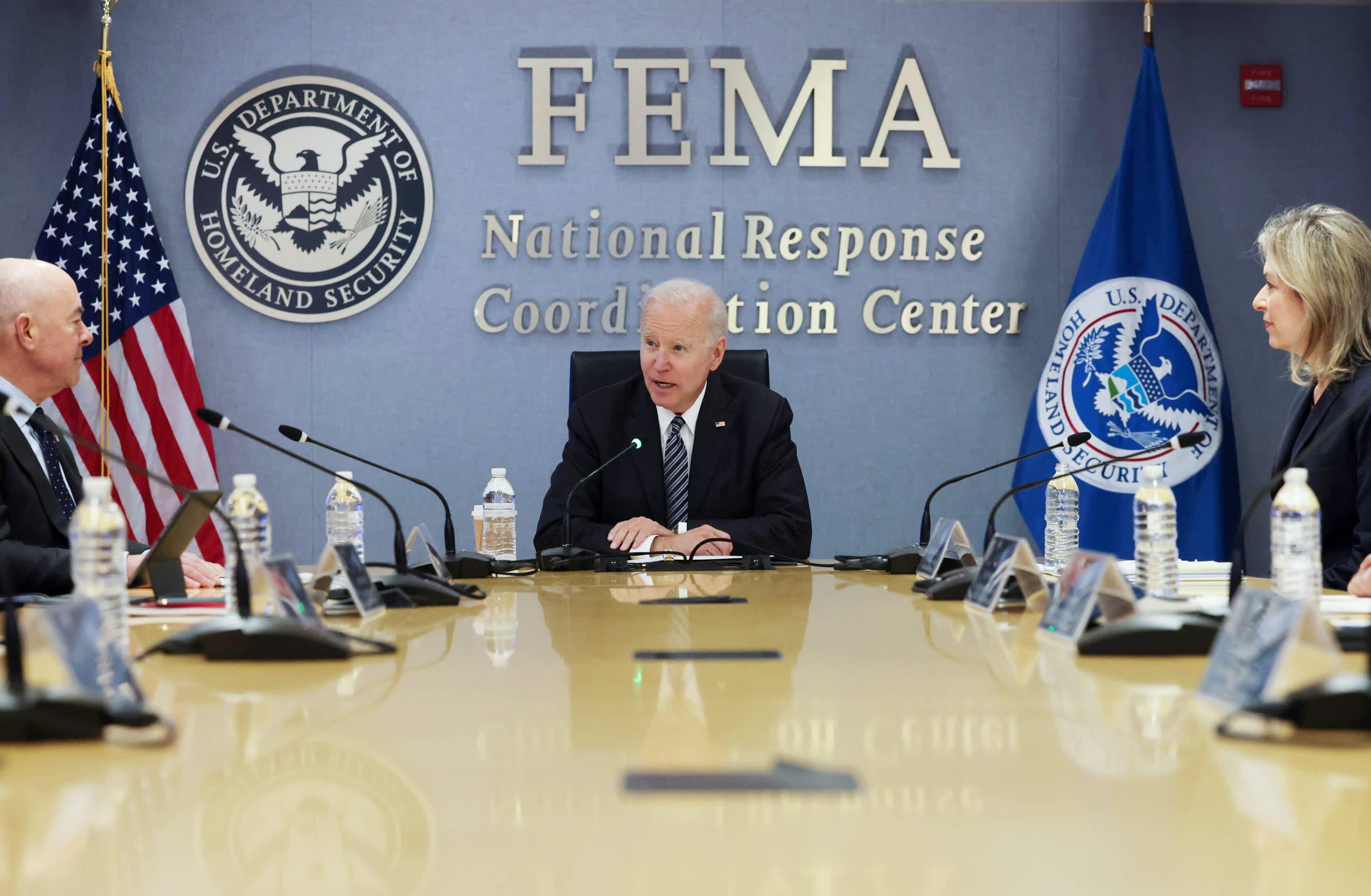Biden doubles FEMA spending on extreme weather preparedness