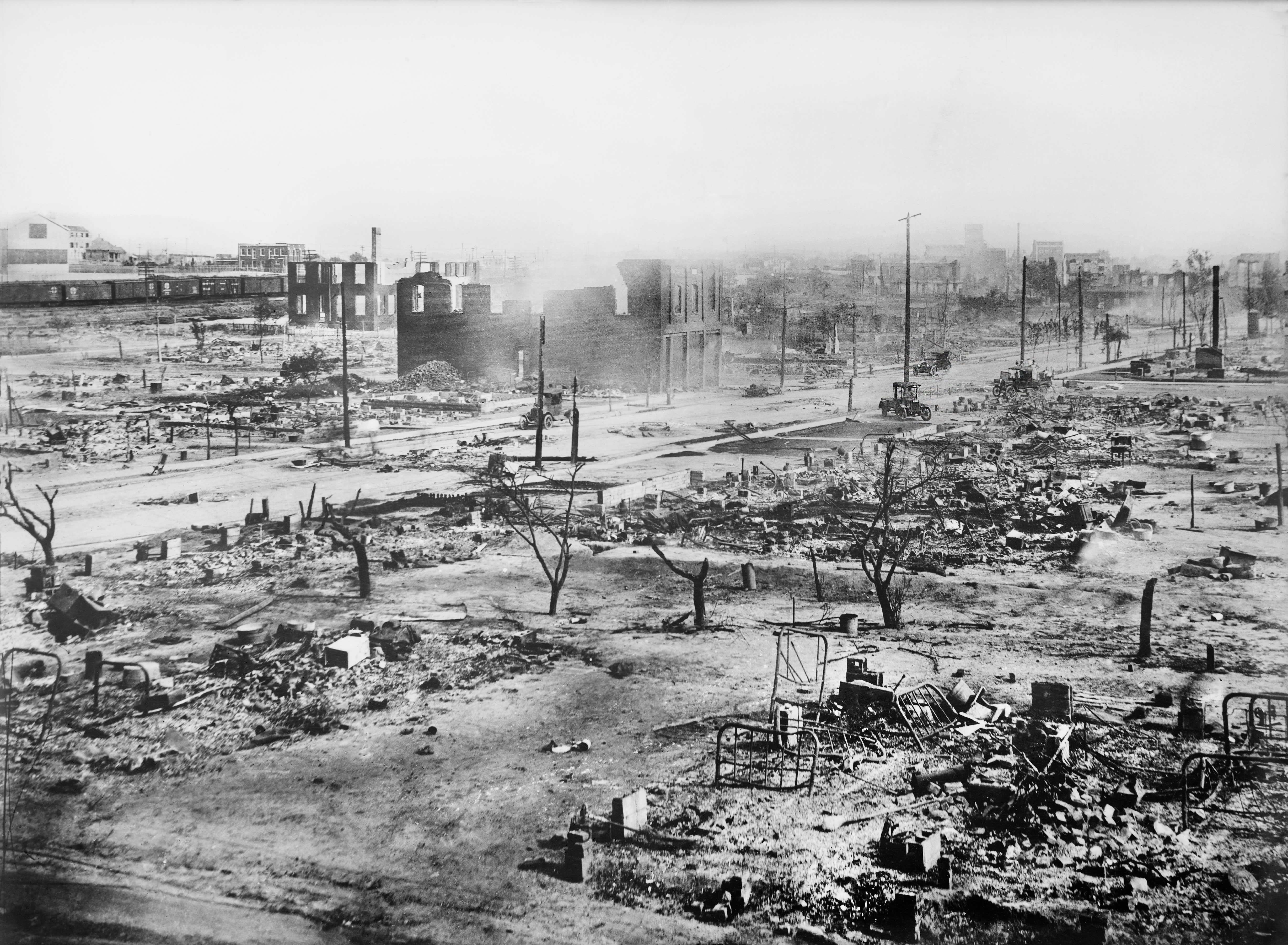 Black Wall Street was shattered 100 years ago. How the Tulsa race massacre was covered up and unearthed – CNBC