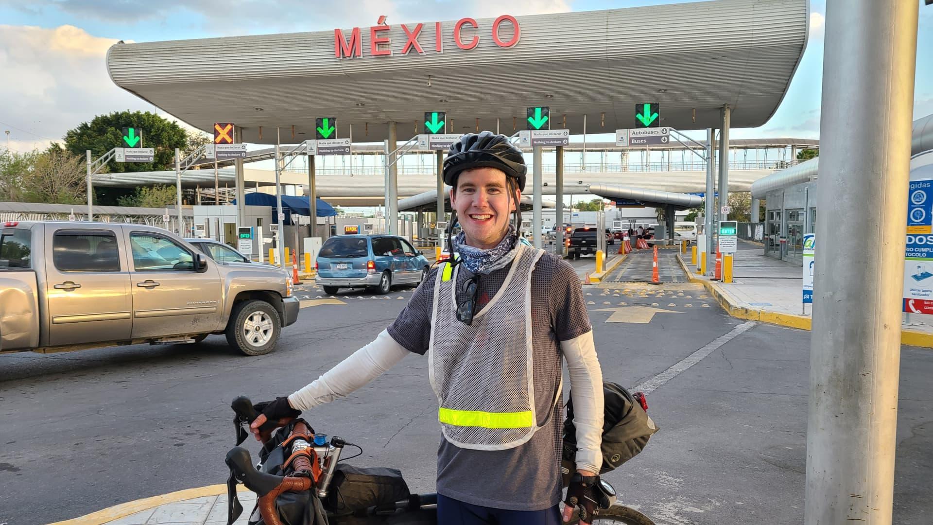 Andrew at the U.S.-Mexico border