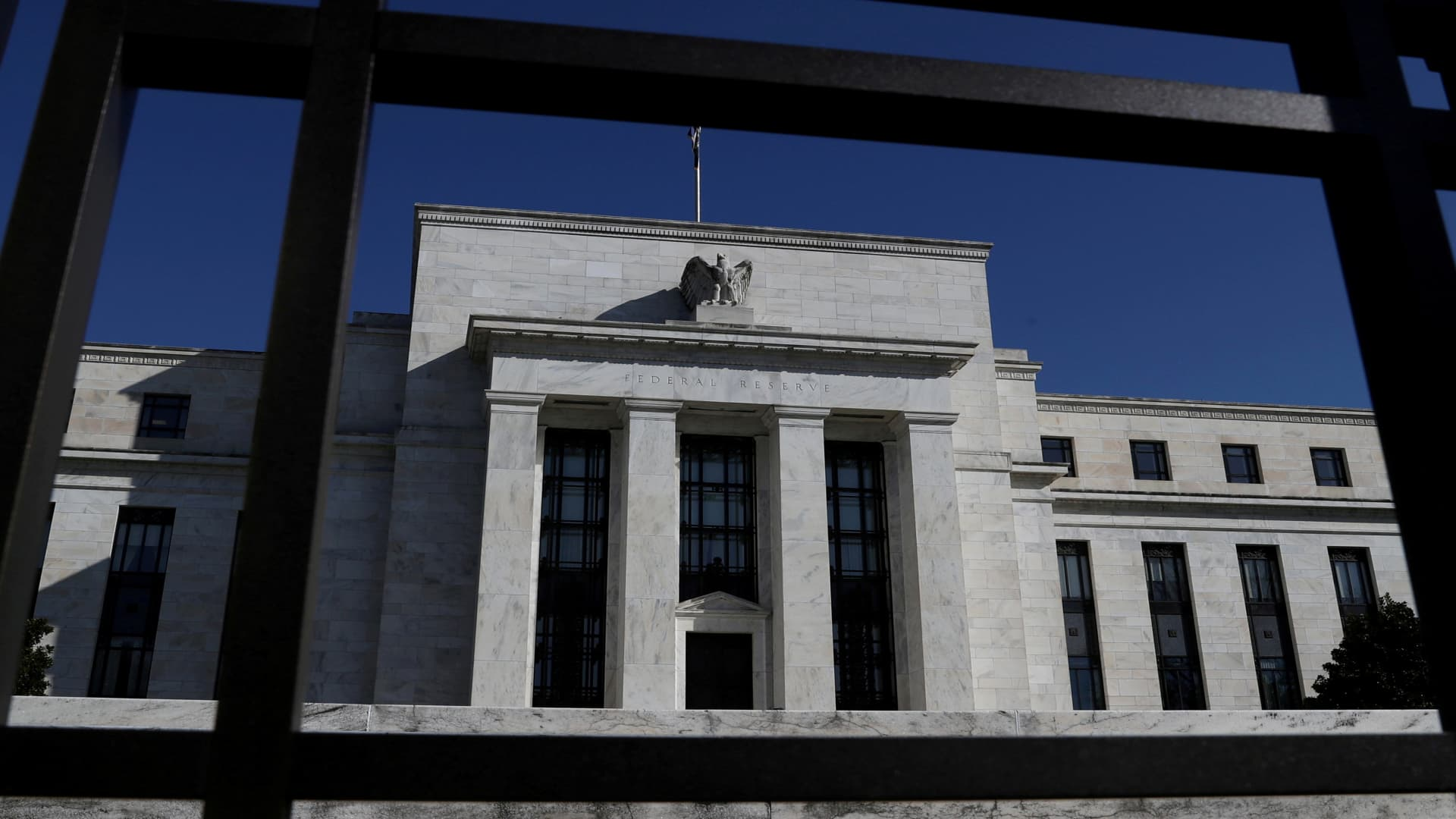 Federal Reserve Board building is pictured in Washington, U.S., March 19, 2019.