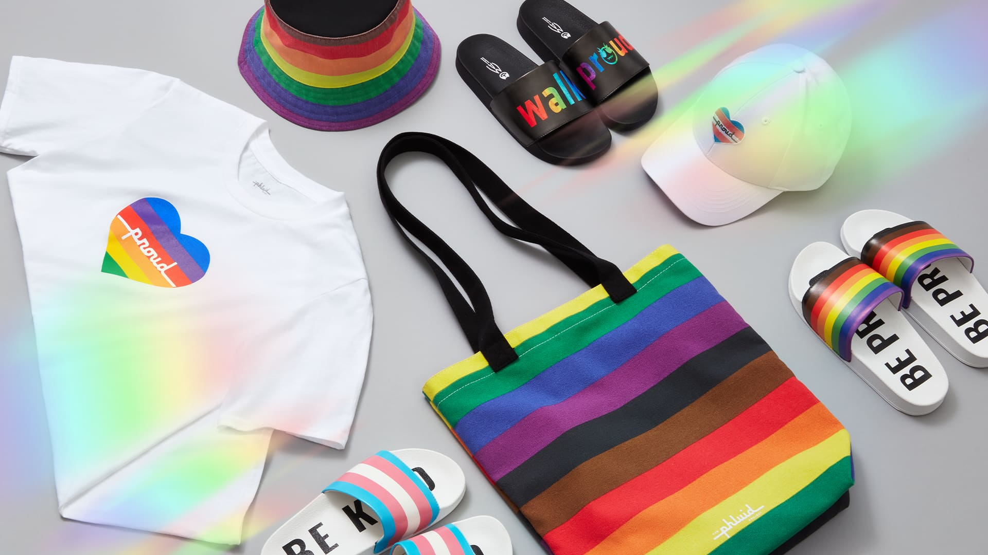 The off-price retailer Saks Off Fifth has teamed up with The Phluid Project to create a line of gender-fluid apparel, coinciding with Pride Month.