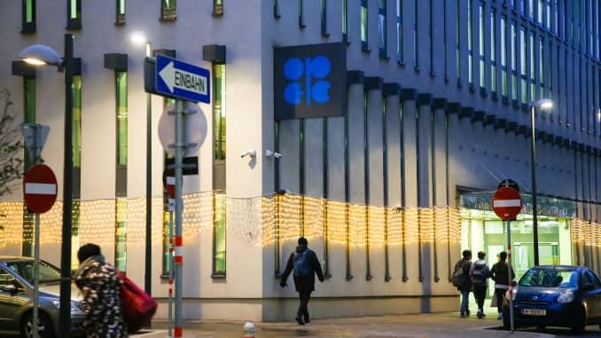 Trụ sở của Tổ chức Các nước Xuất khẩu Dầu mỏ (OPEC) tại Vienna, Áo vào ngày 17 tháng 12 năm 2018.