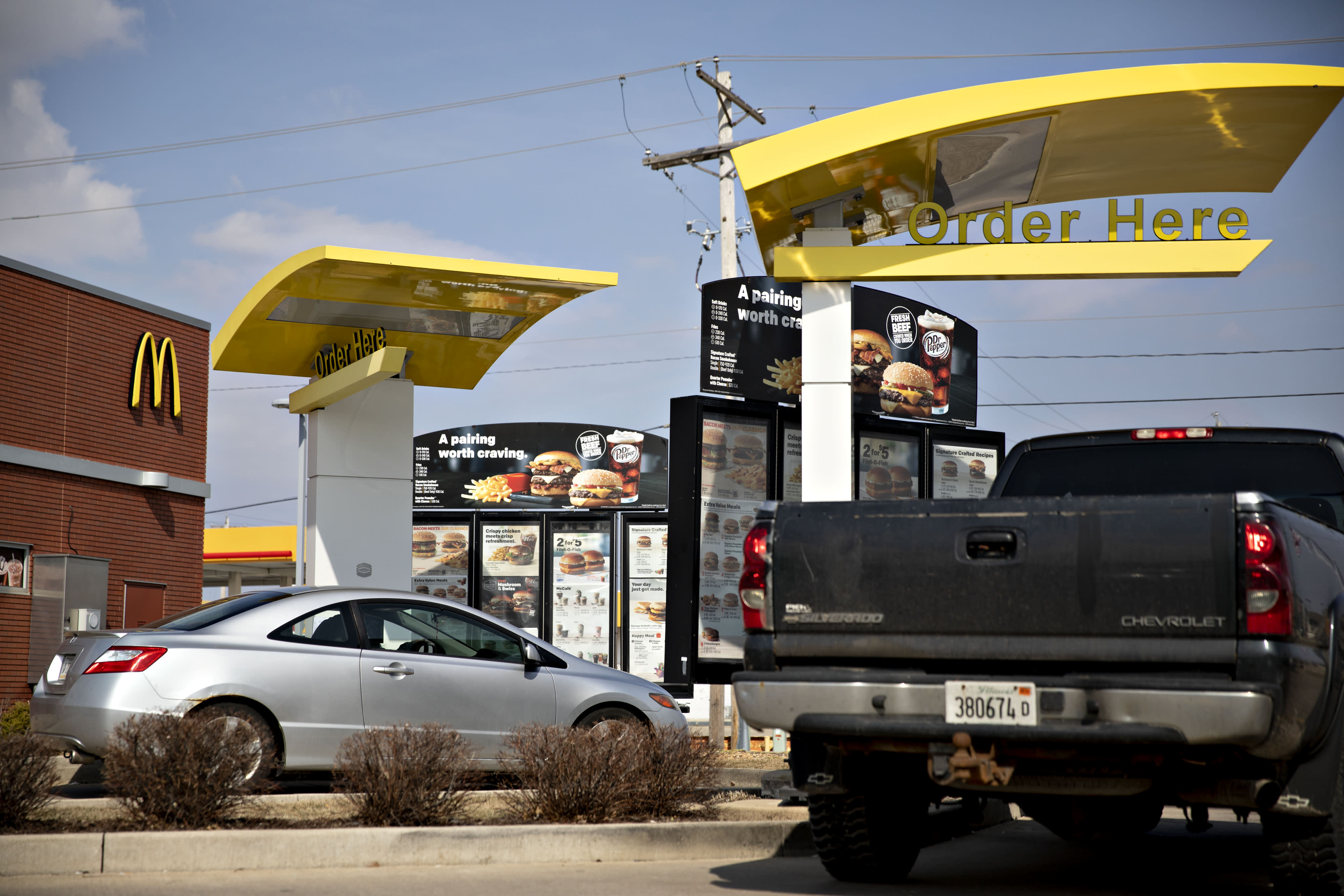 McDonald's is testing automated drive-thru ordering at 10 Chicago restaurants