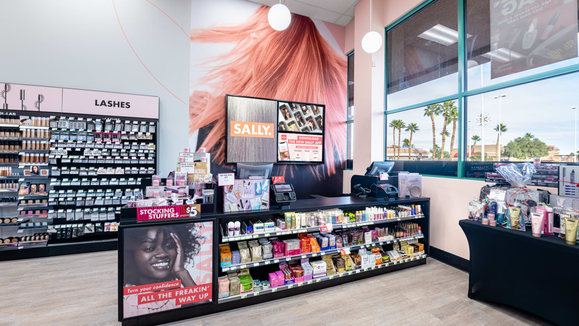 Sally Beauty has leaned into vivid color as one of its sales drivers, as younger consumers embrace self-expression.