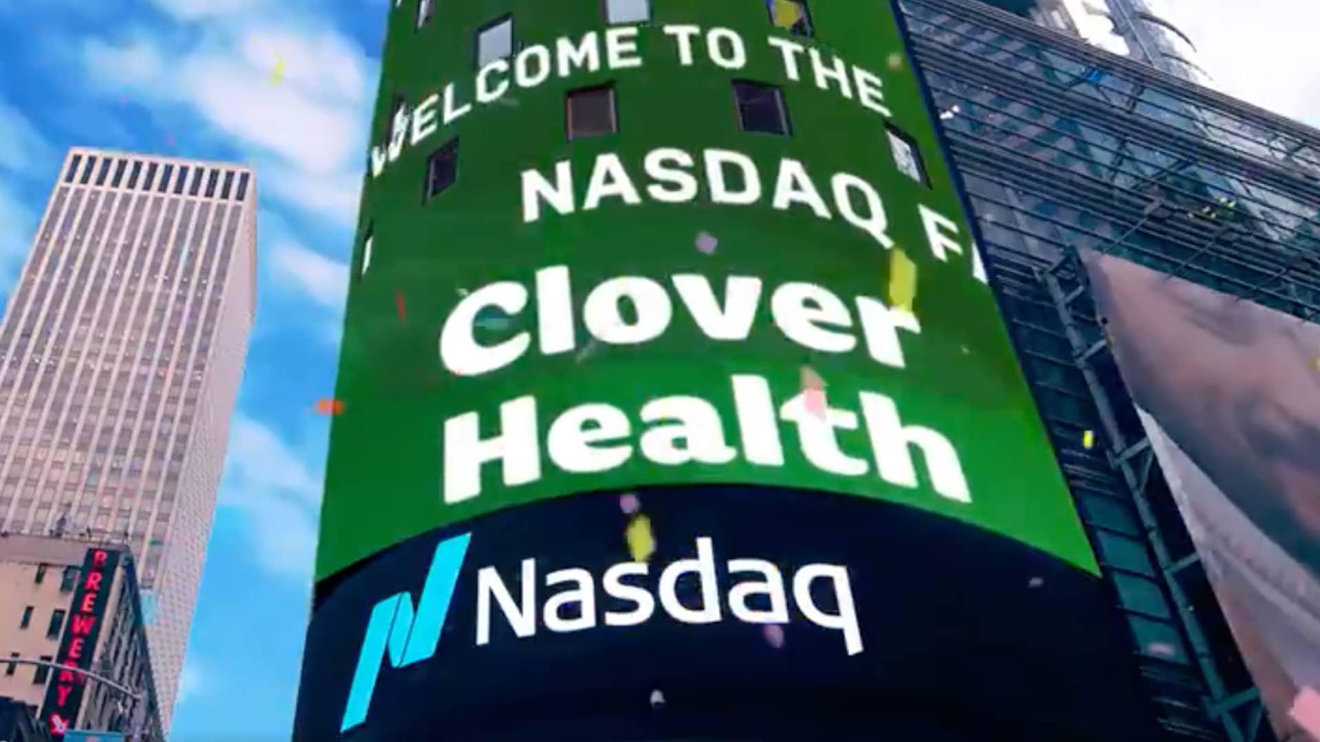 Clover Health featured at the Nasdaq