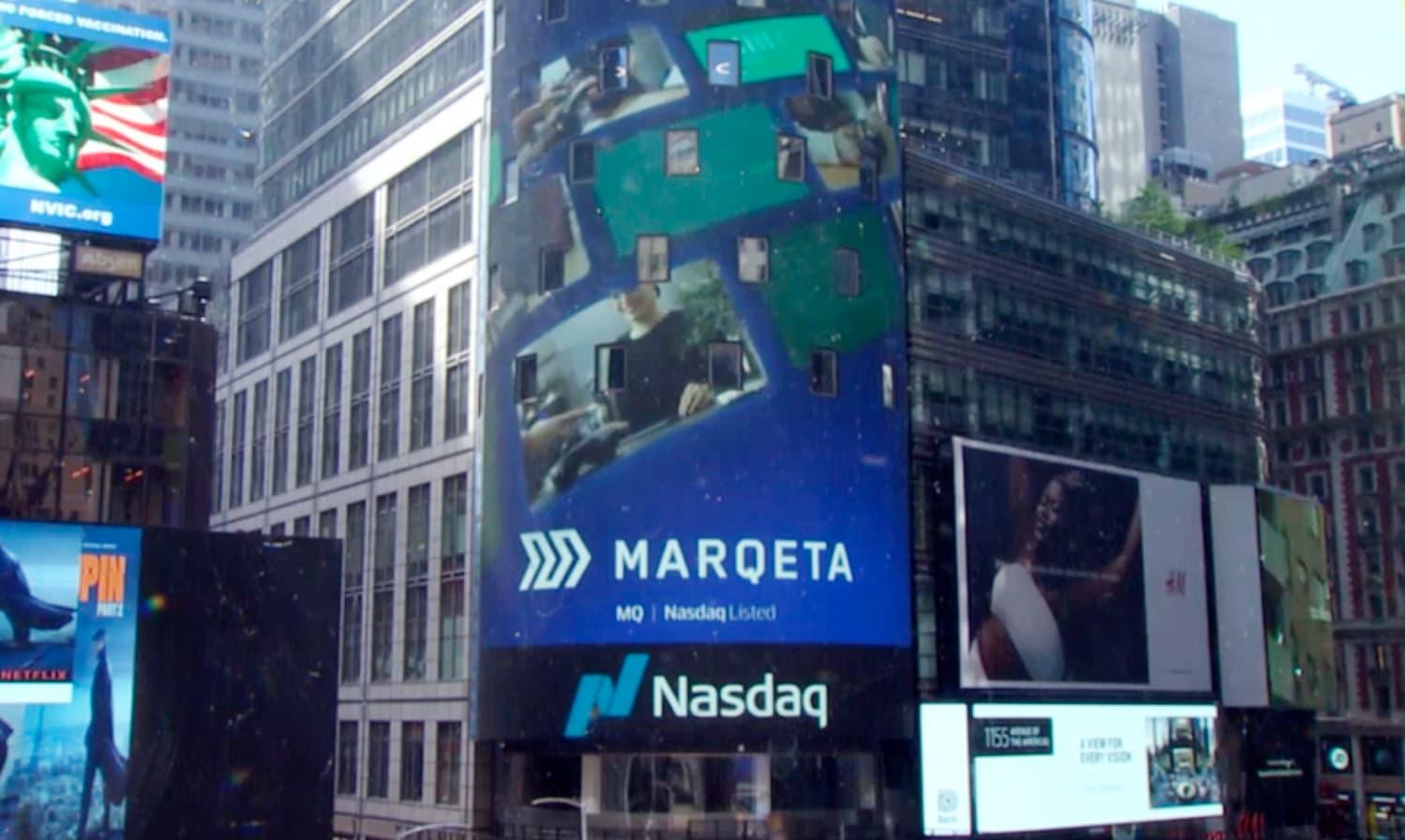 Marqeta jumps 20% in Nasdaq debut valuing fintech company at $17 billion – CNBC