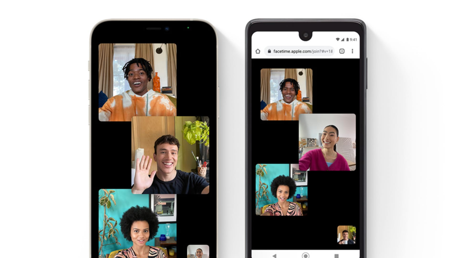Apple iOS 15 will let you FaceTime with Android and Windows users.